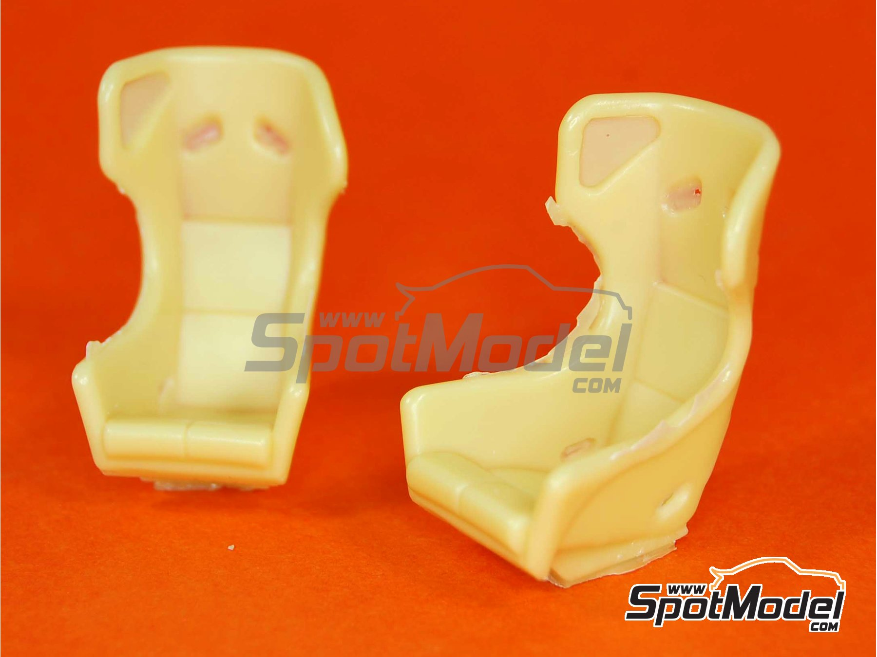 Image 2: OMP Sport for GT cars | Seat in 1/24 scale manufactured by Reji Model (ref. REJI-037)