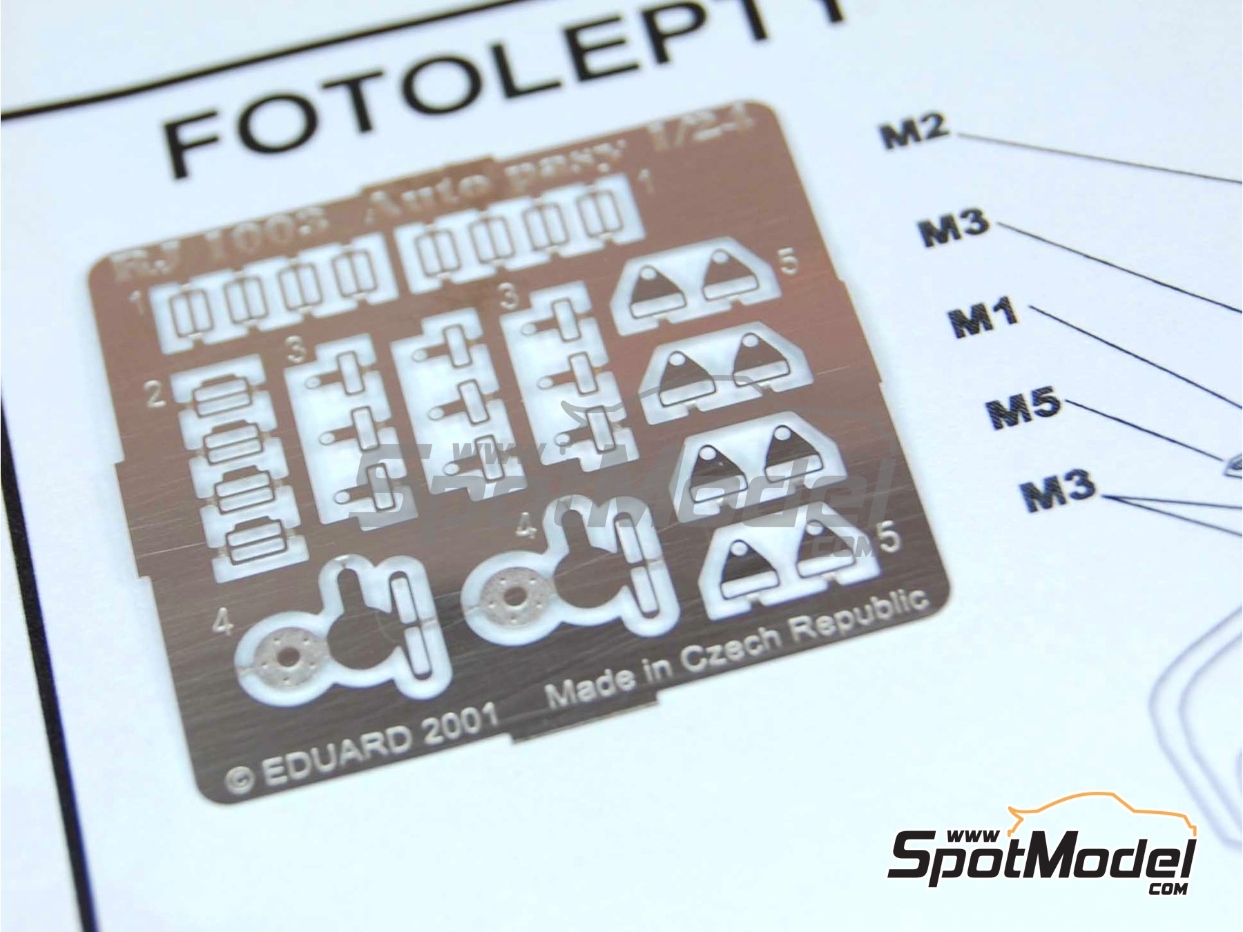 Image 4: OMP Sport for GT cars | Seat in 1/24 scale manufactured by Reji Model (ref. REJI-037)