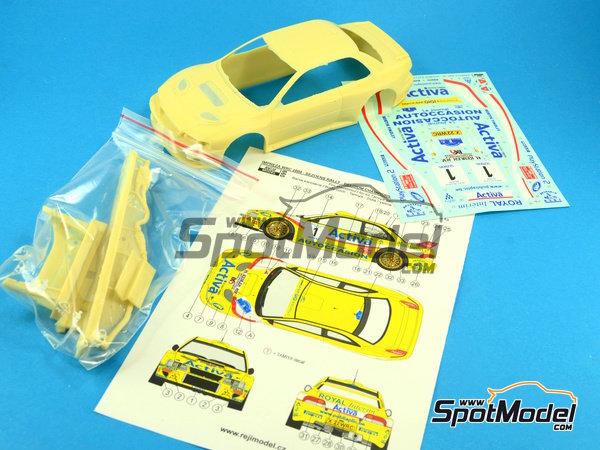 Image 11: Subaru Impreza WRC Activa - Rally Sezoens Belgica 2003 | Decoración en escala1/24 fabricado por Reji Model (ref.REJI-099)