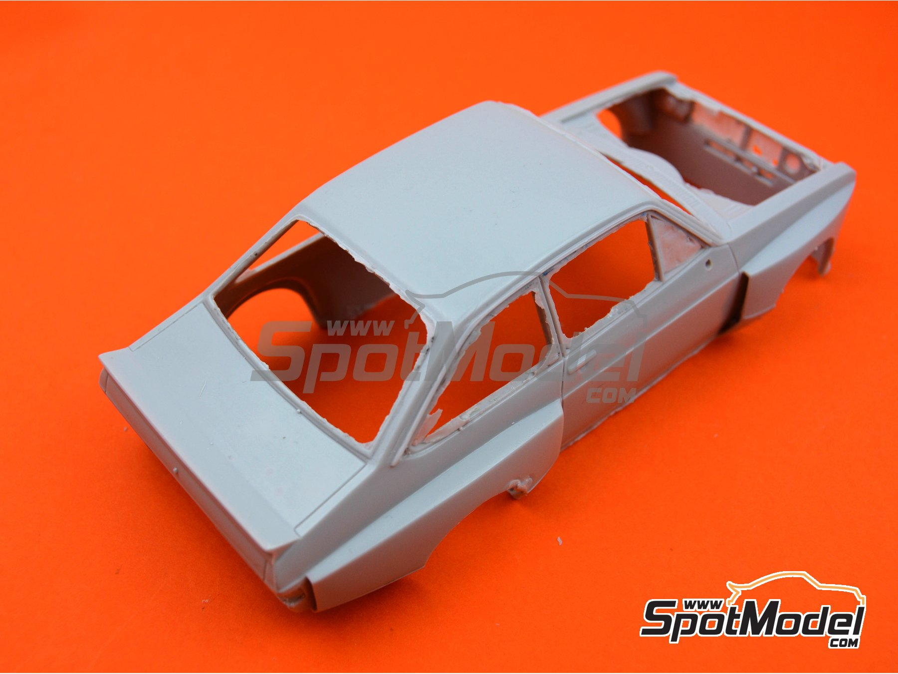 Image 2: Ford Escort Mk. II Zakspeed RS1800 | Bodywork in 1/24 scale manufactured by Reji Model (ref. REJI-103-BODY)