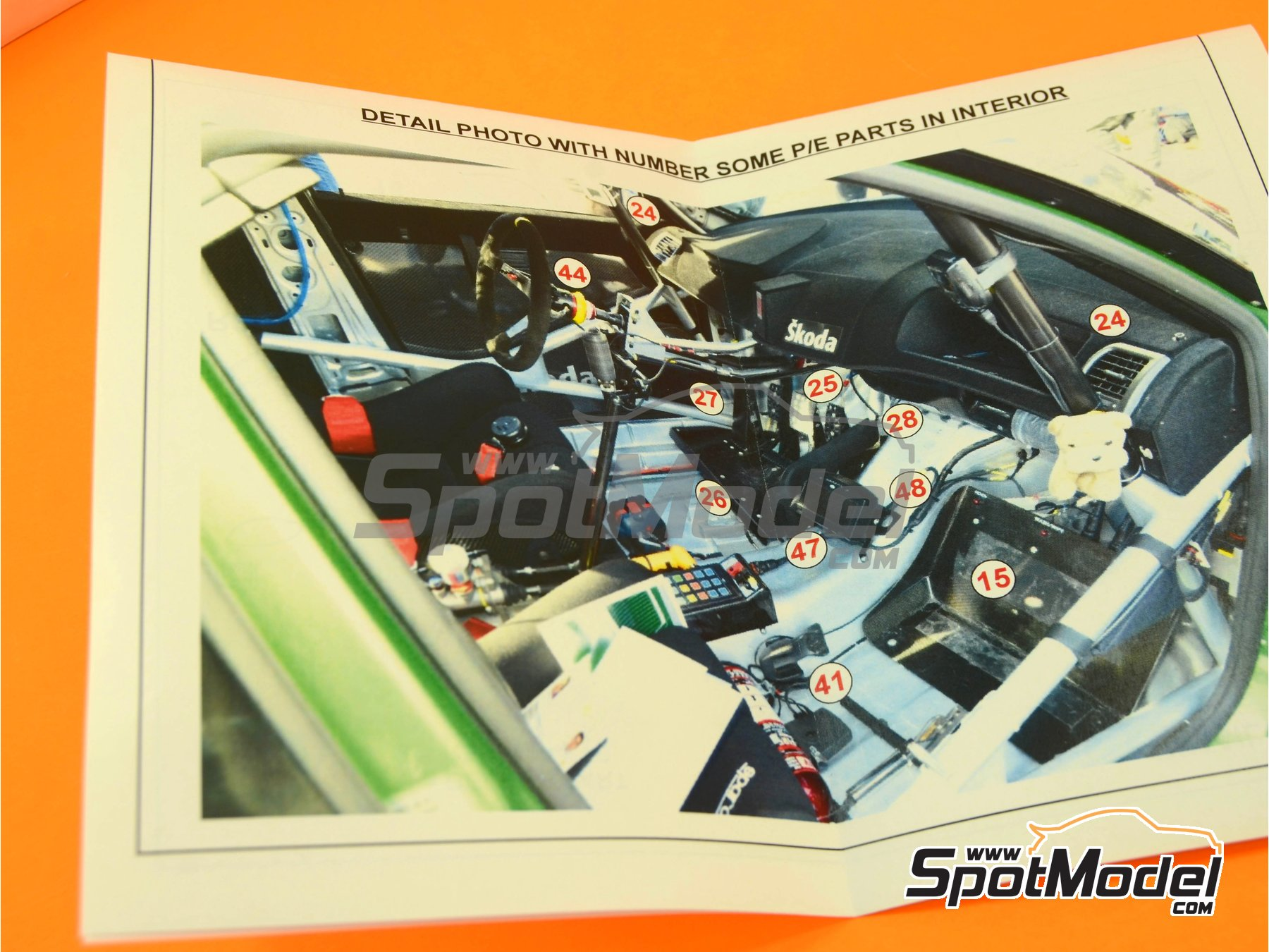 Image 2: Skoda Fabia S2000 Helix - Montecarlo Rally - Rallye Automobile de Monte-Carlo 2009 | Transkit in 1/24 scale manufactured by Reji Model (ref.REJI-169)