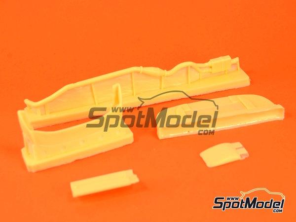 Image 6: Subaru Impreza WRC - Rally de Cataluña Costa Dorada RACC, Rally de San Remo 2000 | Decoración en escala1/24 fabricado por Reji Model (ref.REJI-225)