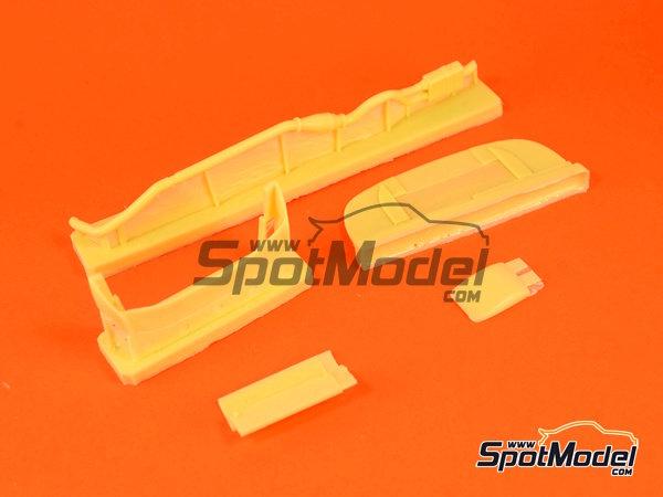 Image 7: Subaru Impreza WRC - Catalunya Costa Dorada RACC Rally, Sanremo Rally 2000 | Marking / livery in 1/24 scale manufactured by Reji Model (ref.REJI-225)