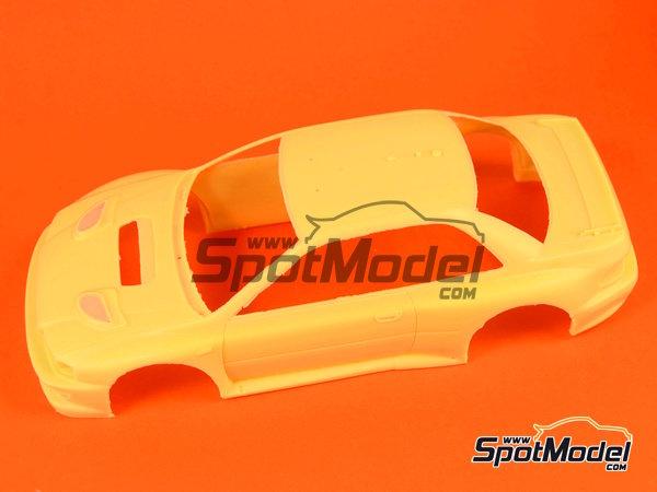 Image 8: Subaru Impreza WRC - Rally de Cataluña Costa Dorada RACC, Rally de San Remo 2000 | Decoración en escala1/24 fabricado por Reji Model (ref.REJI-225)