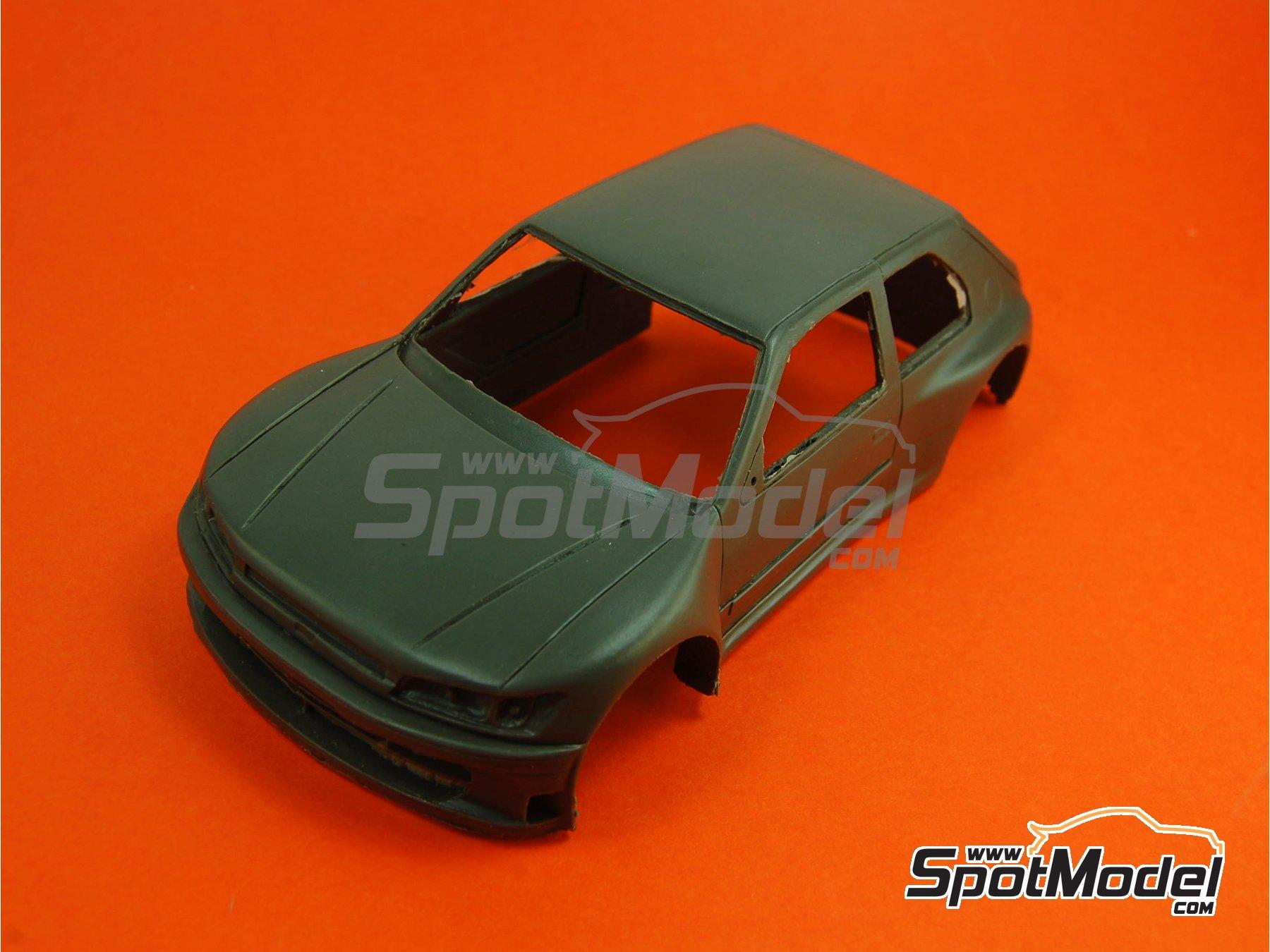 Image 10: Peugeot 306 Maxi Kit Car Evo Total - Rally Barum de la Republica Checa 2004 | Maqueta de coche en escala1/24 fabricado por Reji Model (ref.REJI-2404, tambien 2404)