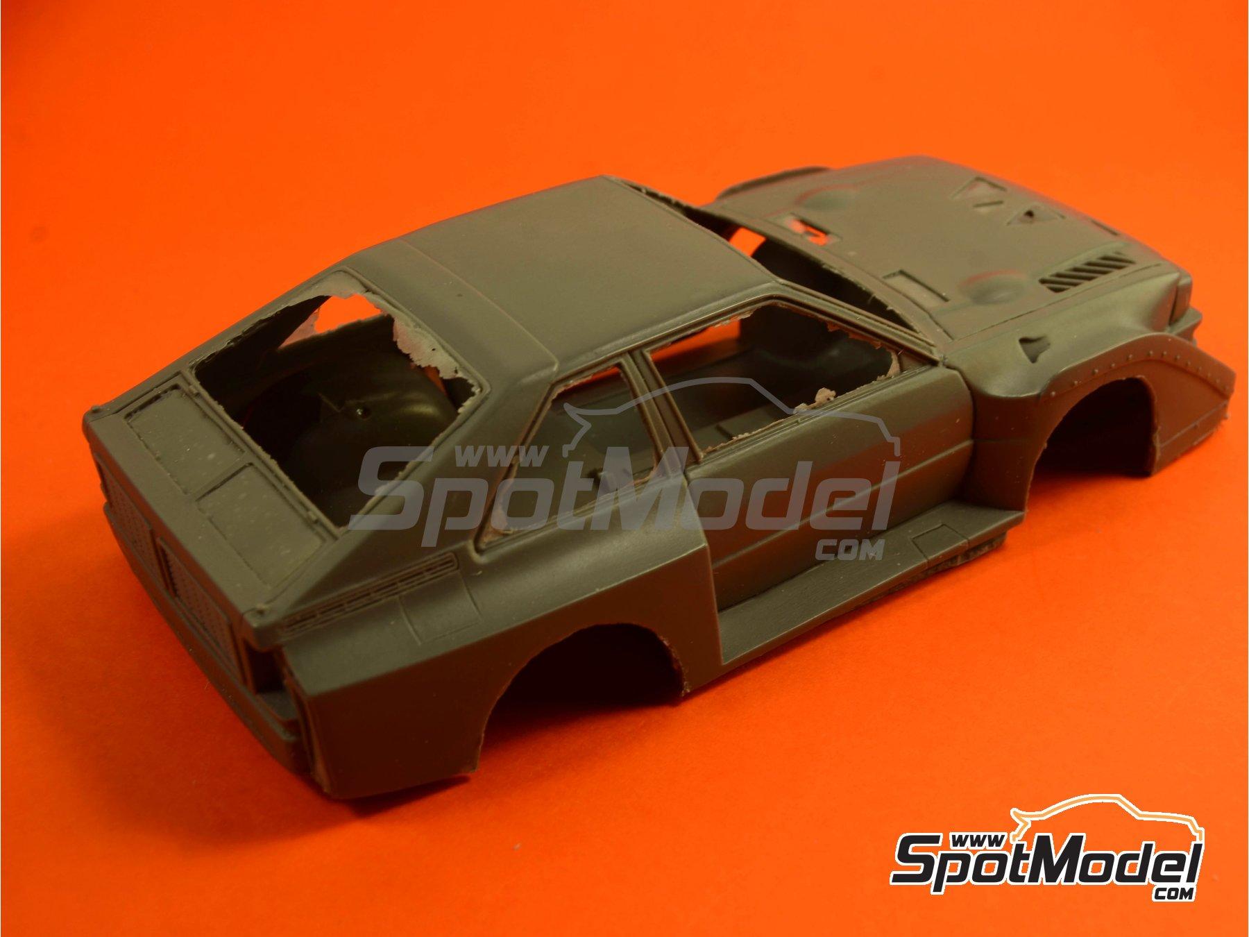 Image 4: Audi Quattro Sport S1 HB - Montecarlo Rally - Rallye Automobile de Monte-Carlo, Sanremo Rally 1985 and 1986   Model car kit in 1/24 scale manufactured by Reji Model (ref.REJI-2406, also 2406)