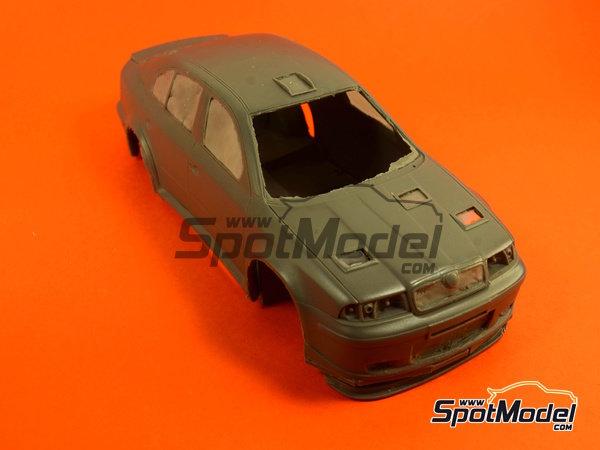 Image 6: Skoda Octavia WRC Castrol - Great Britain RAC Rally 1999 | Model car kit in 1/24 scale manufactured by Reji Model (ref.REJI-2408B, also 2408B)