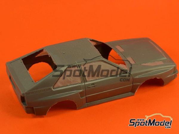 Image 9: Audi Quattro Sport HB - Montecarlo Rally, Sanremo Rally 1984 and 1985 | Model car kit in 1/24 scale manufactured by Reji Model (ref.REJI-2412, also 2412)