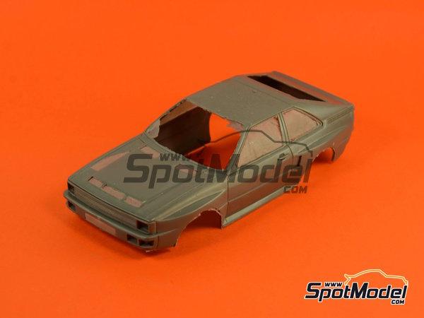 Image 11: Audi Quattro Sport HB - Montecarlo Rally, Sanremo Rally 1984 and 1985 | Model car kit in 1/24 scale manufactured by Reji Model (ref.REJI-2412, also 2412)