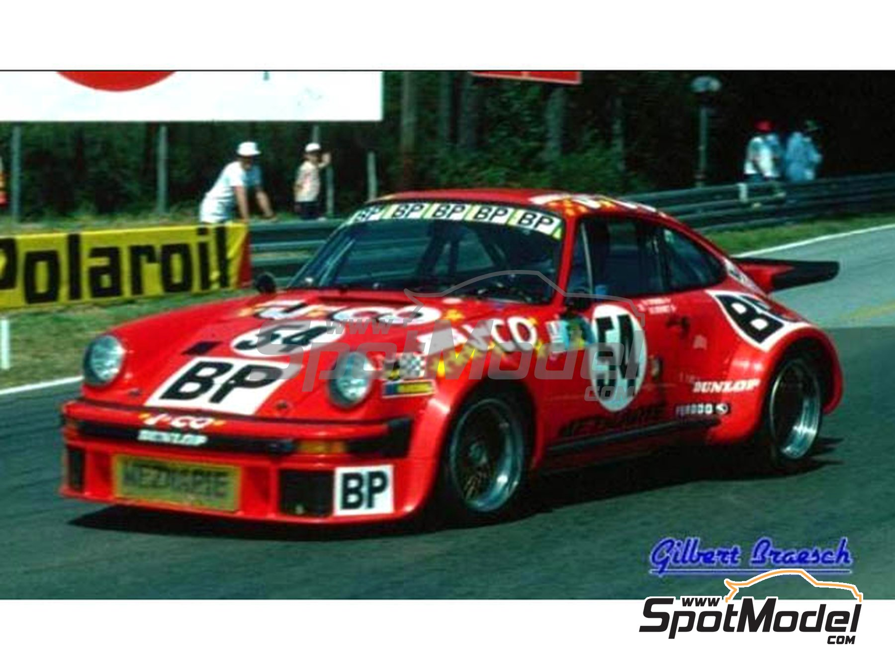 Image 1: Porsche 934 Group 5 Meznaire Team - 24 Hours Le Mans 1976 | Marking / livery in 1/24 scale manufactured by Reji Model (ref. REJI-259)