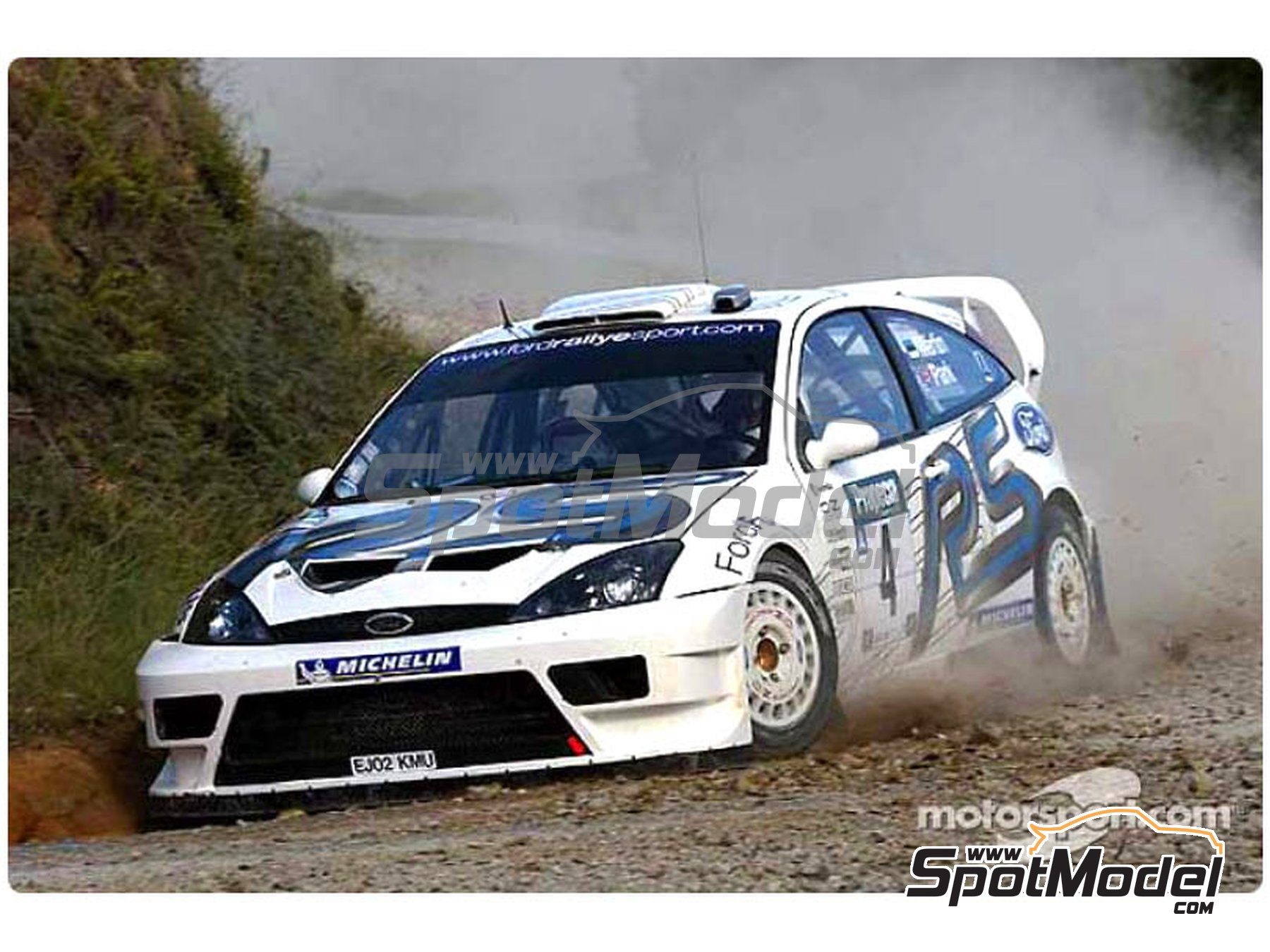 Image 2: Ford Focus WRC - New Zealand rally 2003 | Marking / livery in 1/24 scale manufactured by Reji Model (ref. REJI-271)