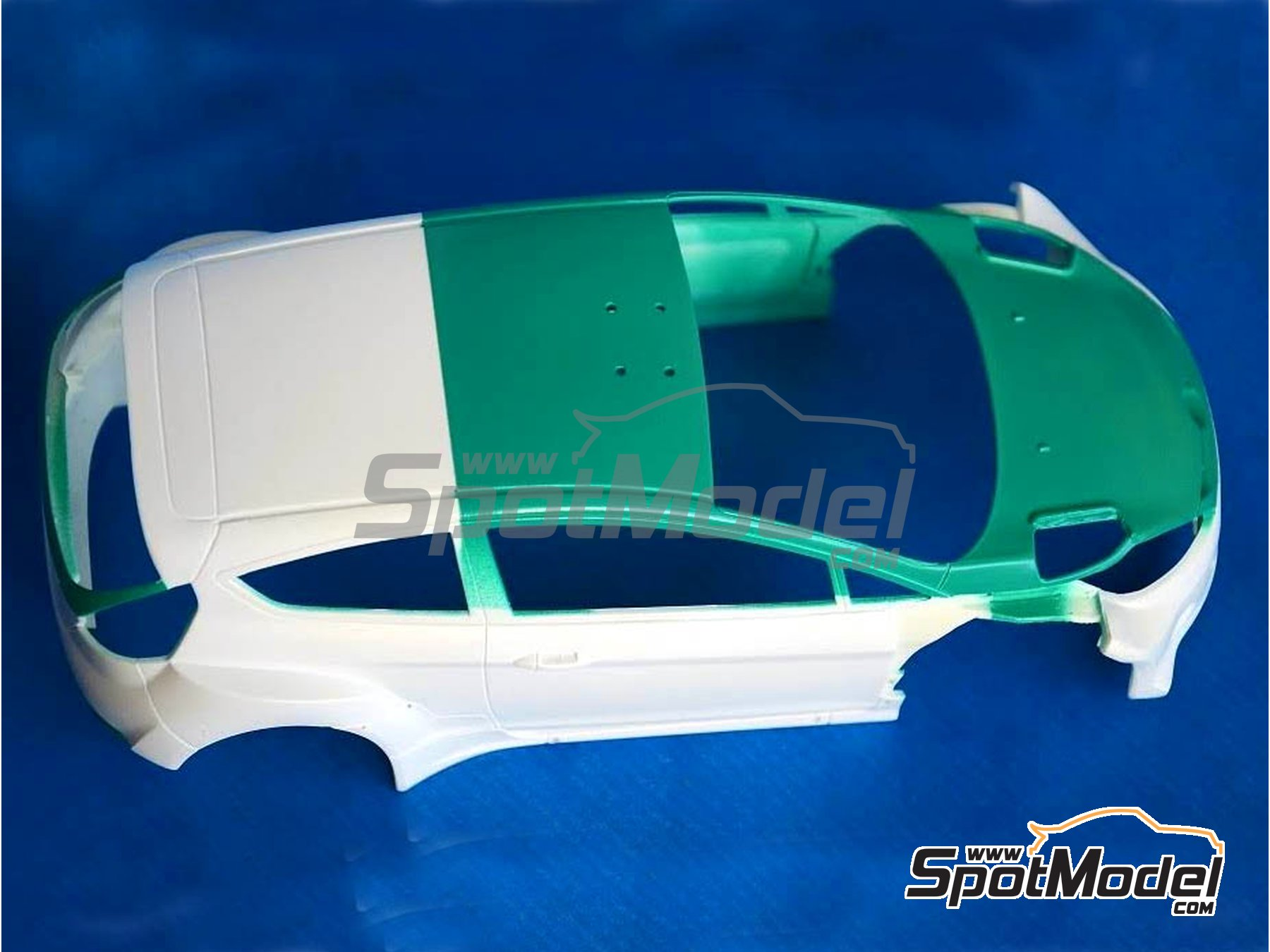 Image 2: Bruco Green | Acrylic paint manufactured by Reji Model (ref.RMP-001)