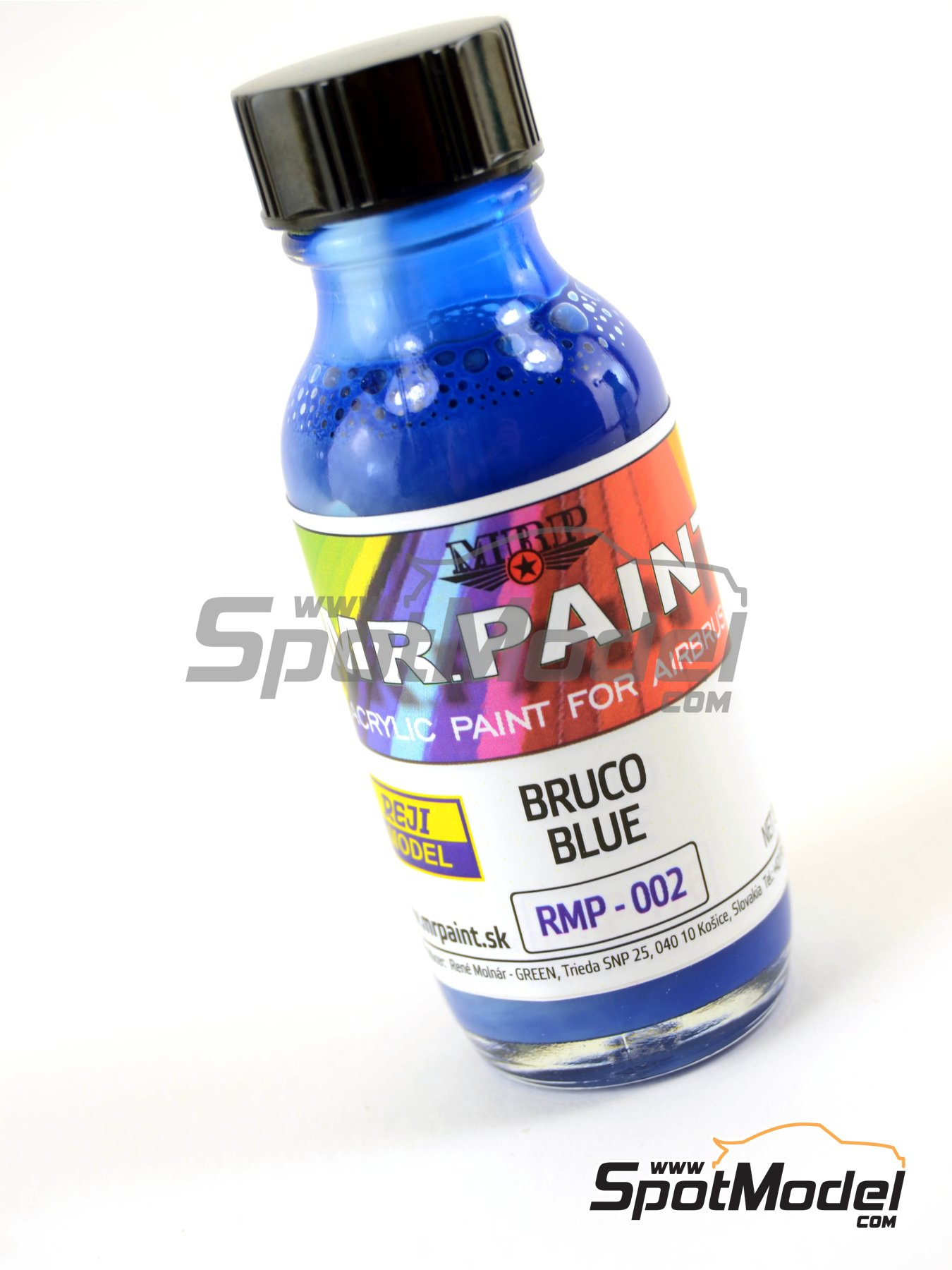 Bruco Blue | Acrylic paint manufactured by Reji Model (ref. RMP-002) image