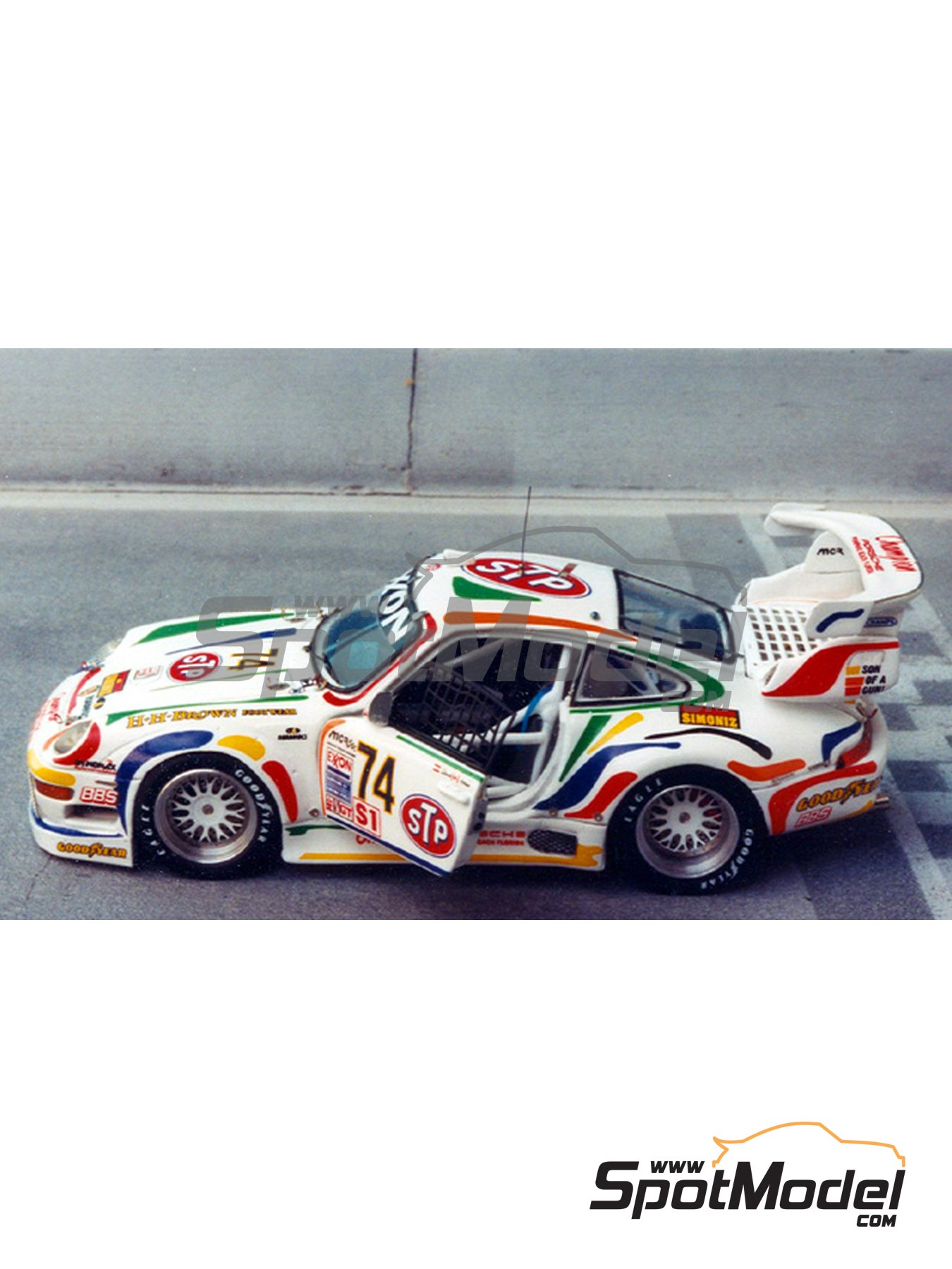 renaissance models model car kit 1 43 scale porsche 911 gt2 evo stp champion sebring 1996. Black Bedroom Furniture Sets. Home Design Ideas