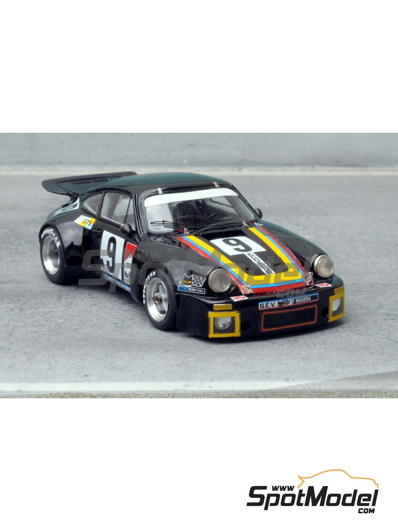 Porsche 911 RSR - 24 Horas de Le Mans 1975 | Maqueta de coche en escala1/43 fabricado por Renaissance Models (ref.092C) image