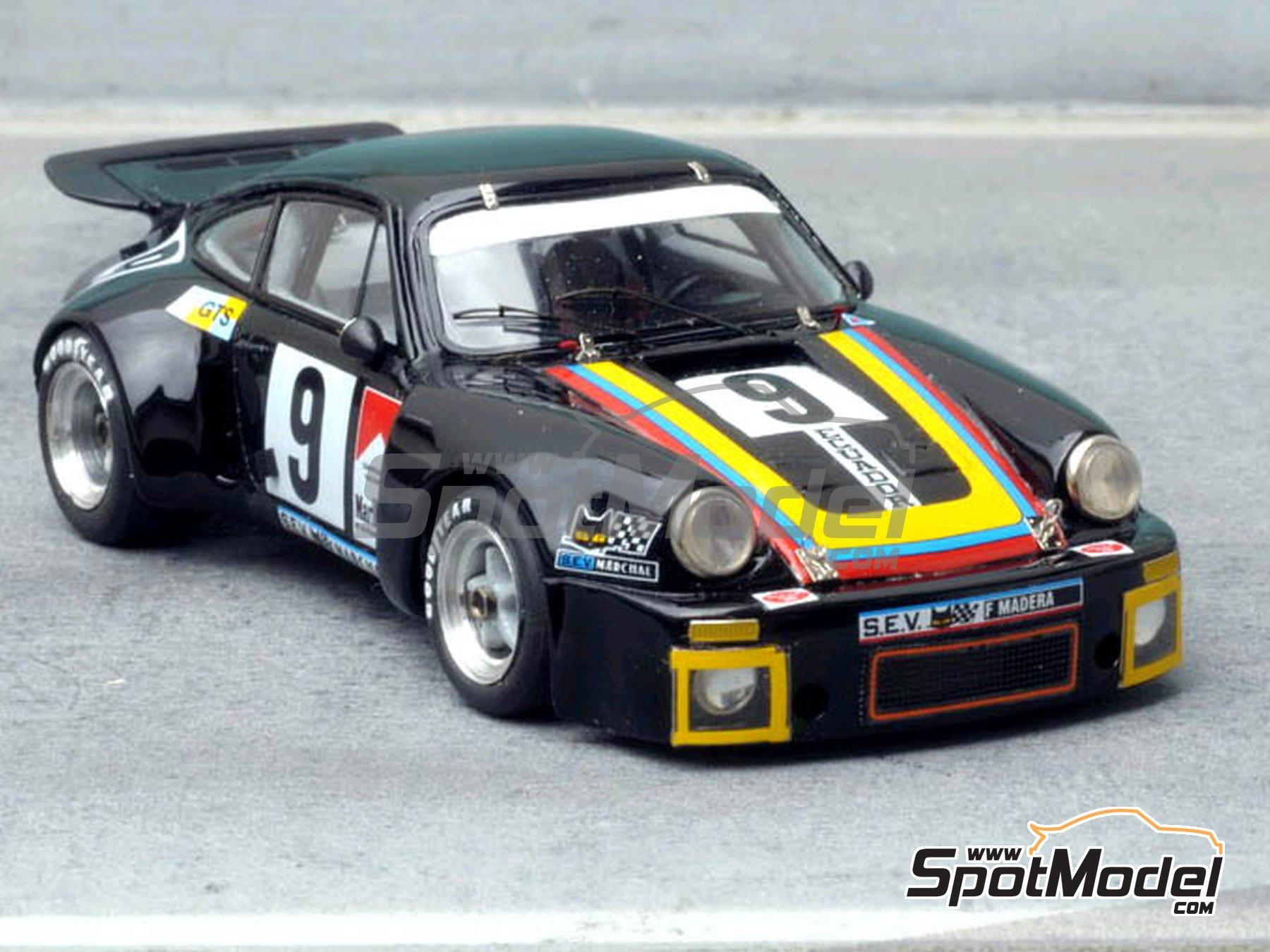 Image 1: Porsche 911 RSR - 24 Horas de Le Mans 1975 | Maqueta de coche en escala1/43 fabricado por Renaissance Models (ref.092C)