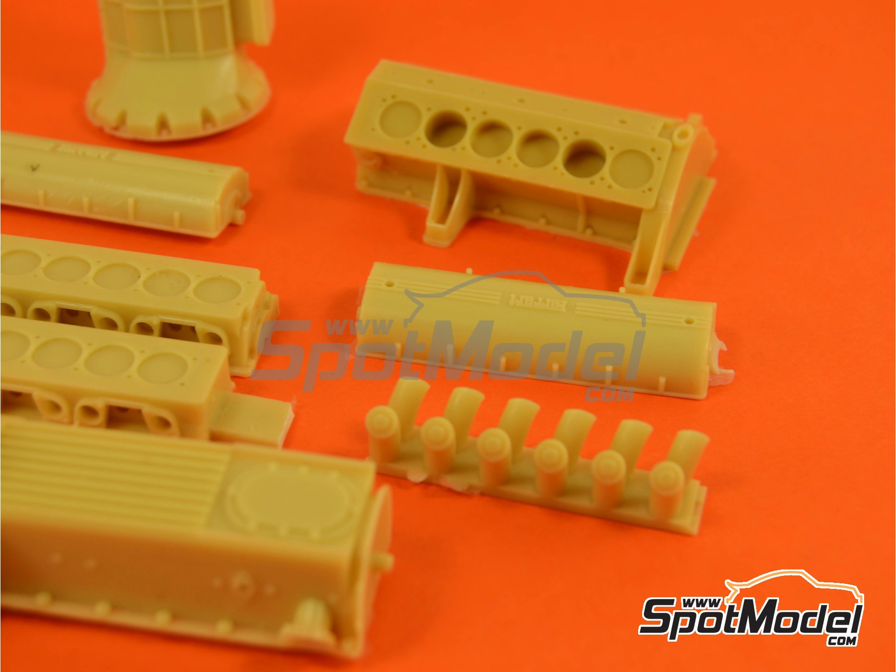 Image 8: Ferrari V12 3000cc | Motor en escala1/12 fabricado por Renaissance Models (ref.12ENG1)
