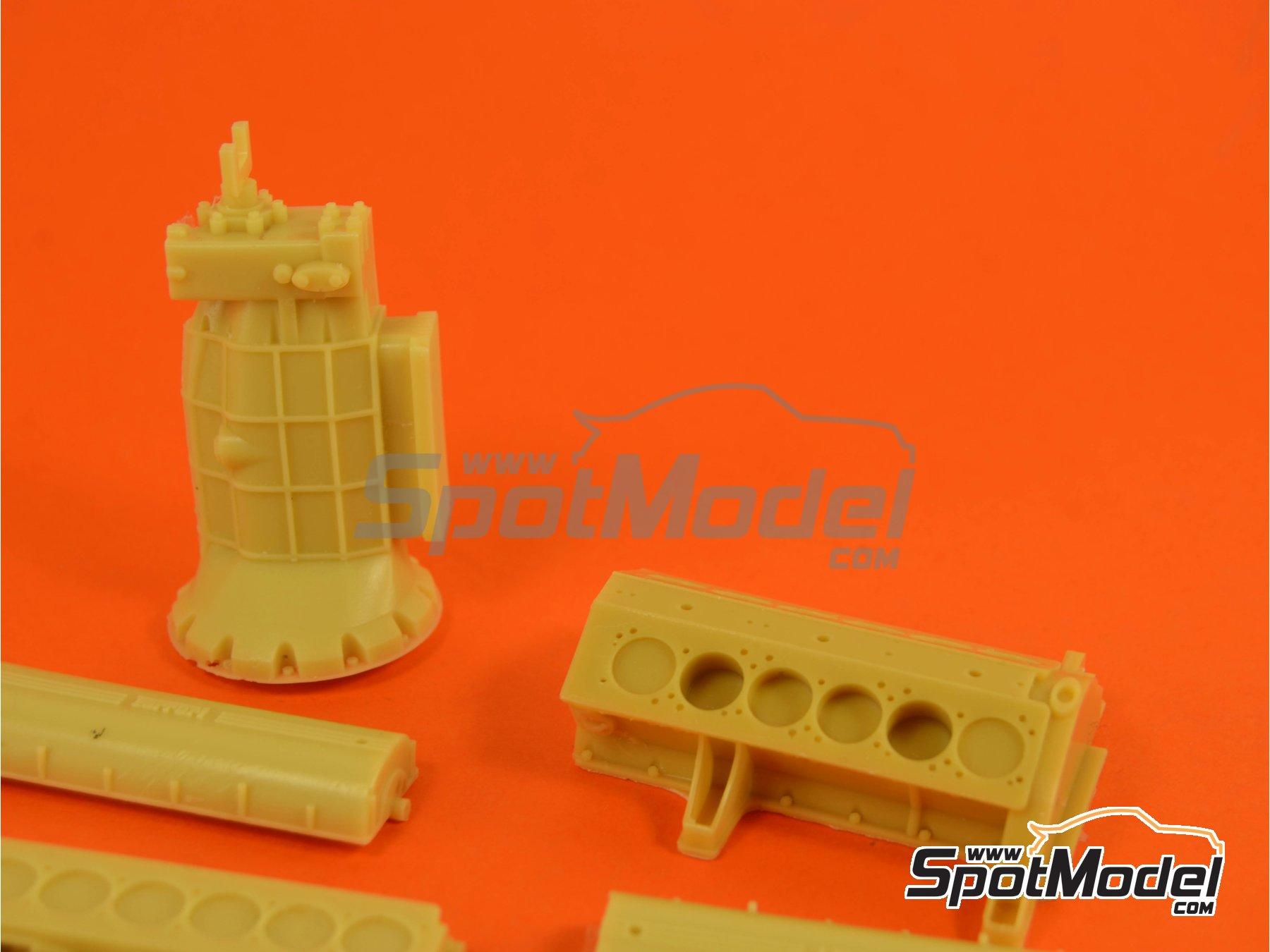 Image 9: Ferrari V12 3000cc | Motor en escala1/12 fabricado por Renaissance Models (ref.12ENG1)