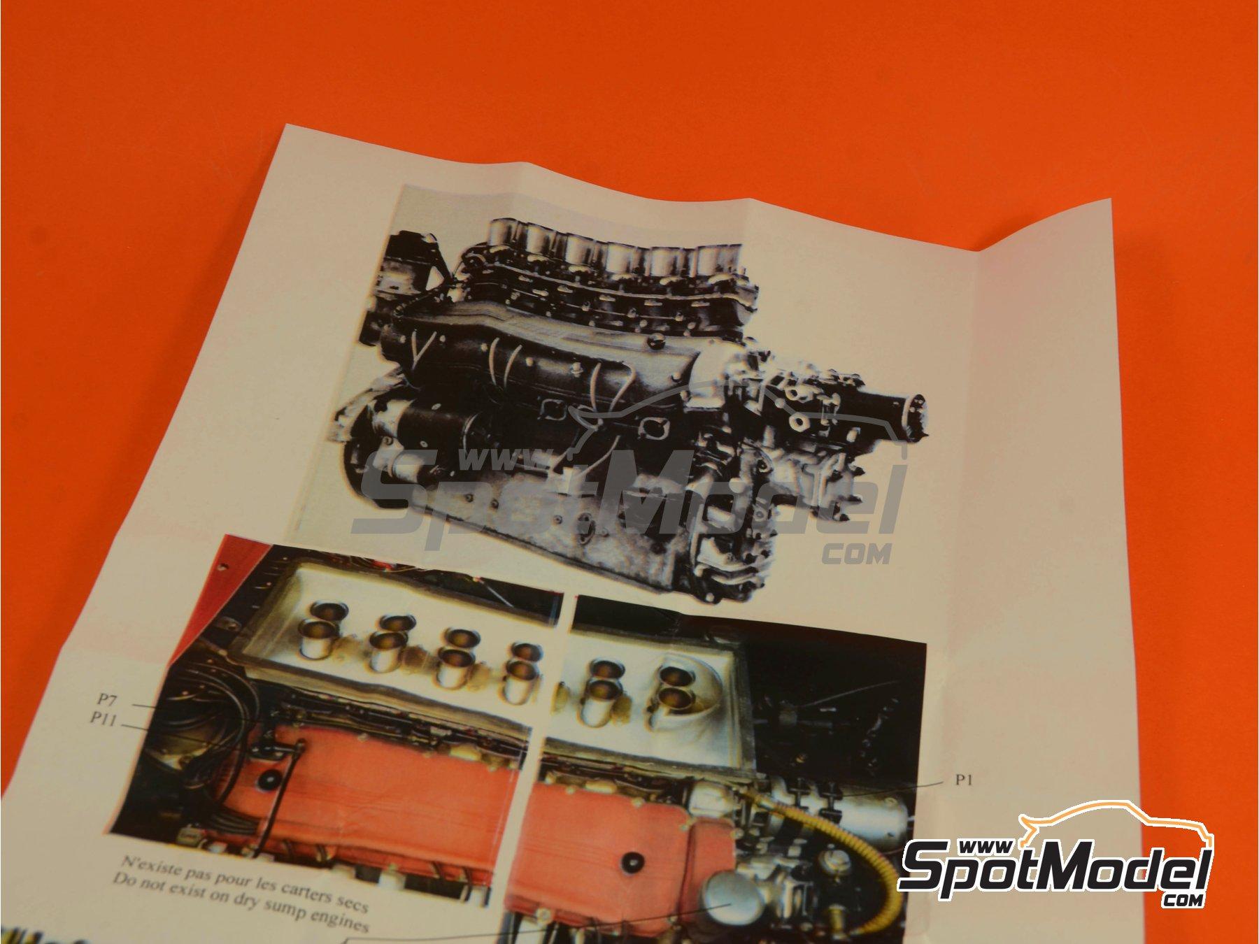 Image 12: Ferrari V12 3000cc | Motor en escala1/12 fabricado por Renaissance Models (ref.12ENG1)