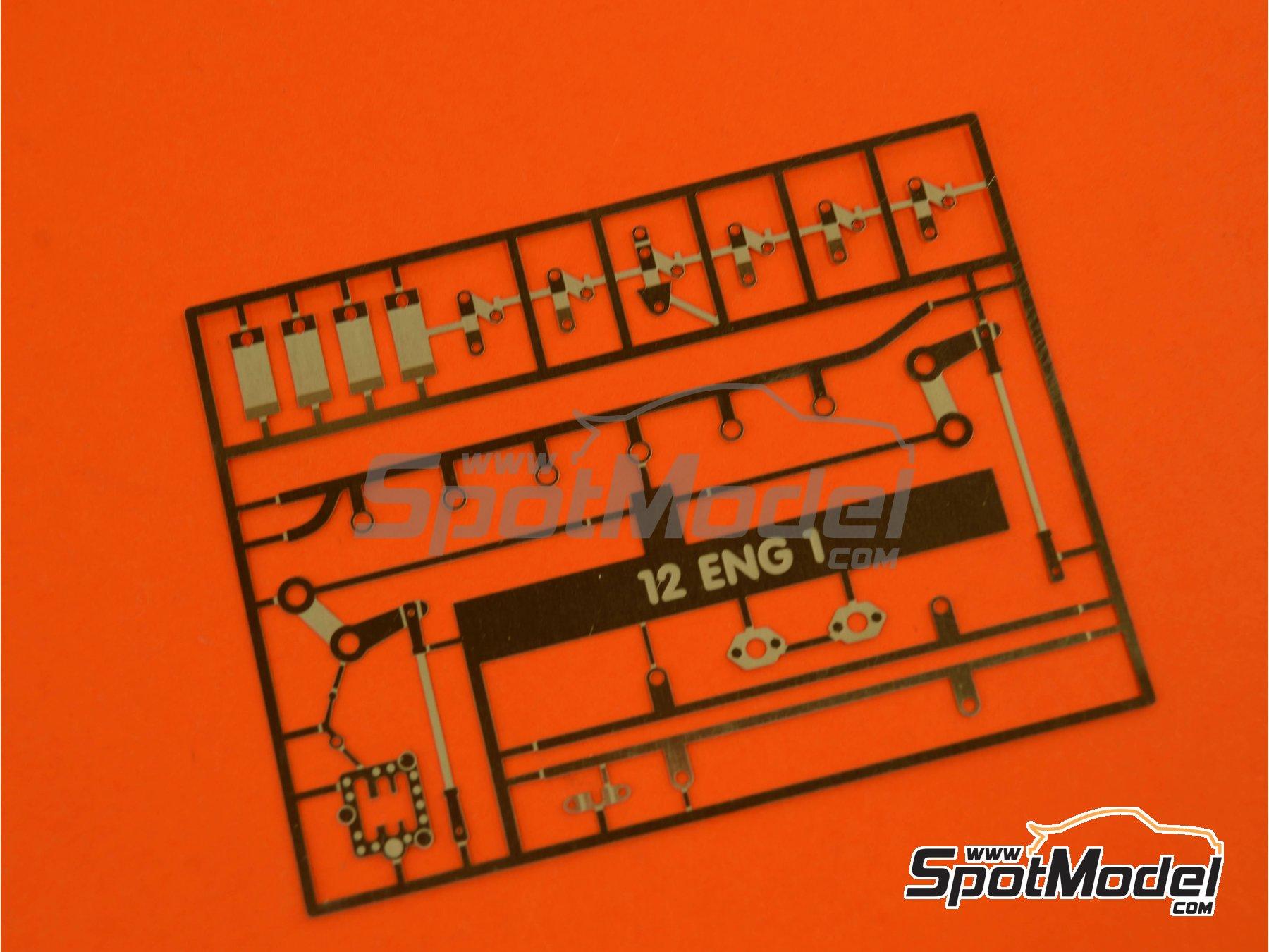 Image 16: Ferrari V12 3000cc | Motor en escala1/12 fabricado por Renaissance Models (ref.12ENG1)