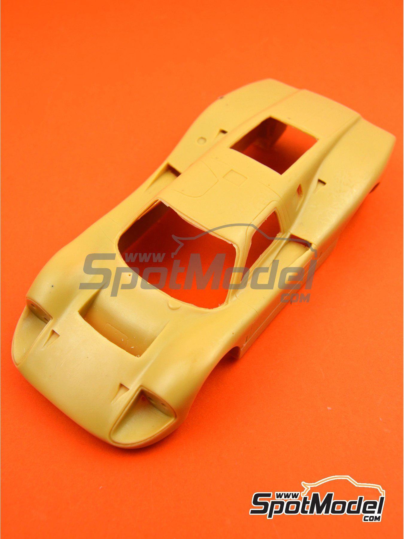 Ford GT40 Mk IV | Bodywork in 1/24 scale manufactured by Renaissance Models (ref. 24-16-BODY) image