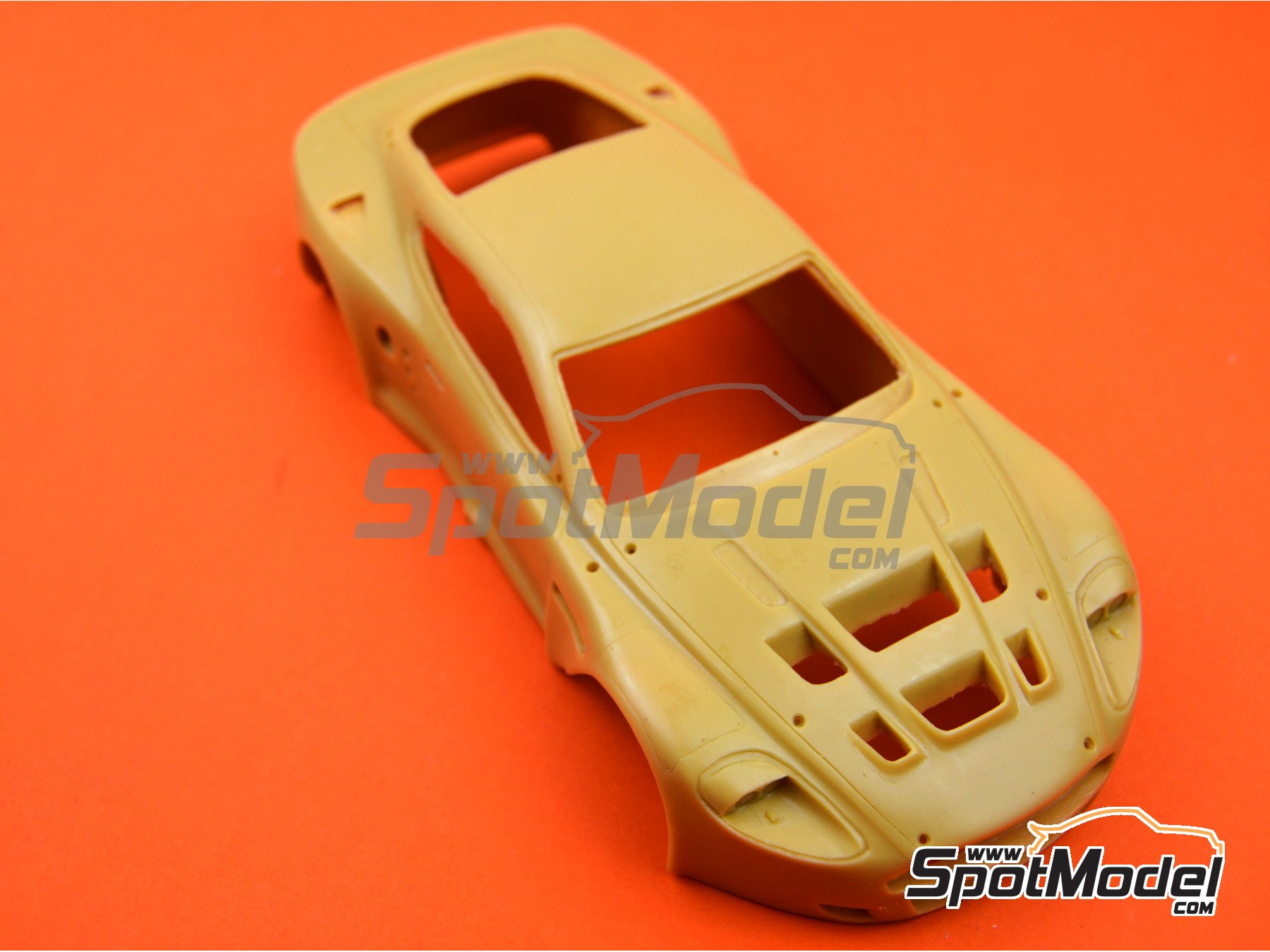 Image 1: Aston Martin DBR9 | Bodywork in 1/24 scale manufactured by Renaissance Models (ref. 24-24-BODY)