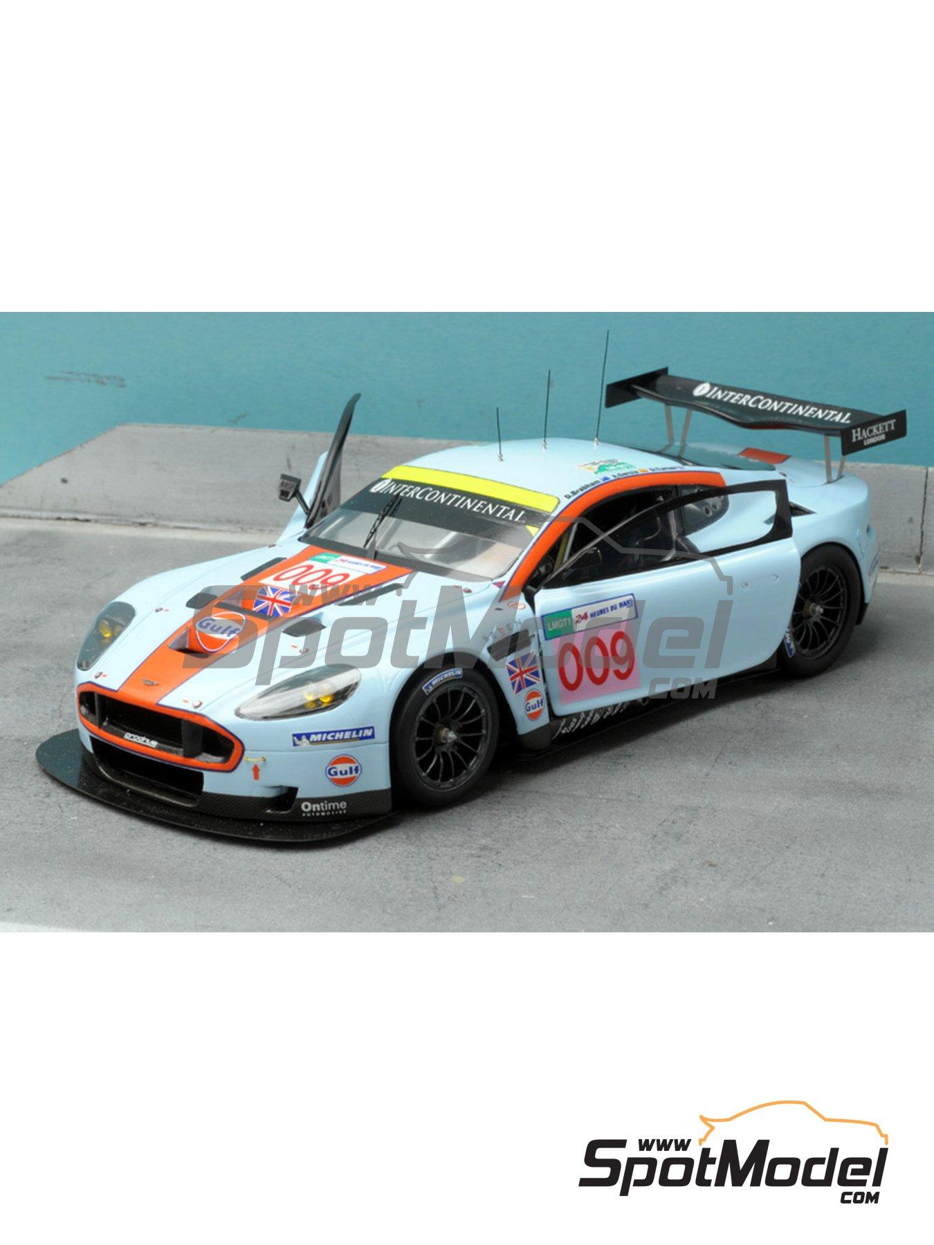 Aston Martin DBR9 Gulf   24 Hours Le Mans 2008 | Model Car Kit In 1
