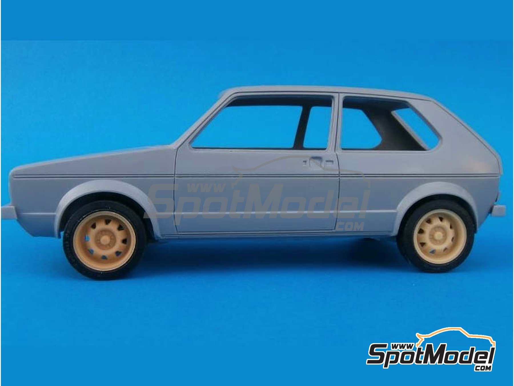 Image 3: ATS 15 inches | Rims and tyres set in 1/24 scale manufactured by Renaissance Models (ref. 24ATS)