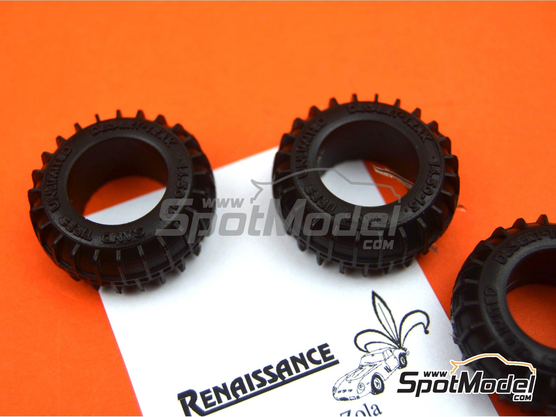 Image 5: Neumáticos de arena | Neumáticos en escala1/24 fabricado por Renaissance Models (ref.24PNS)