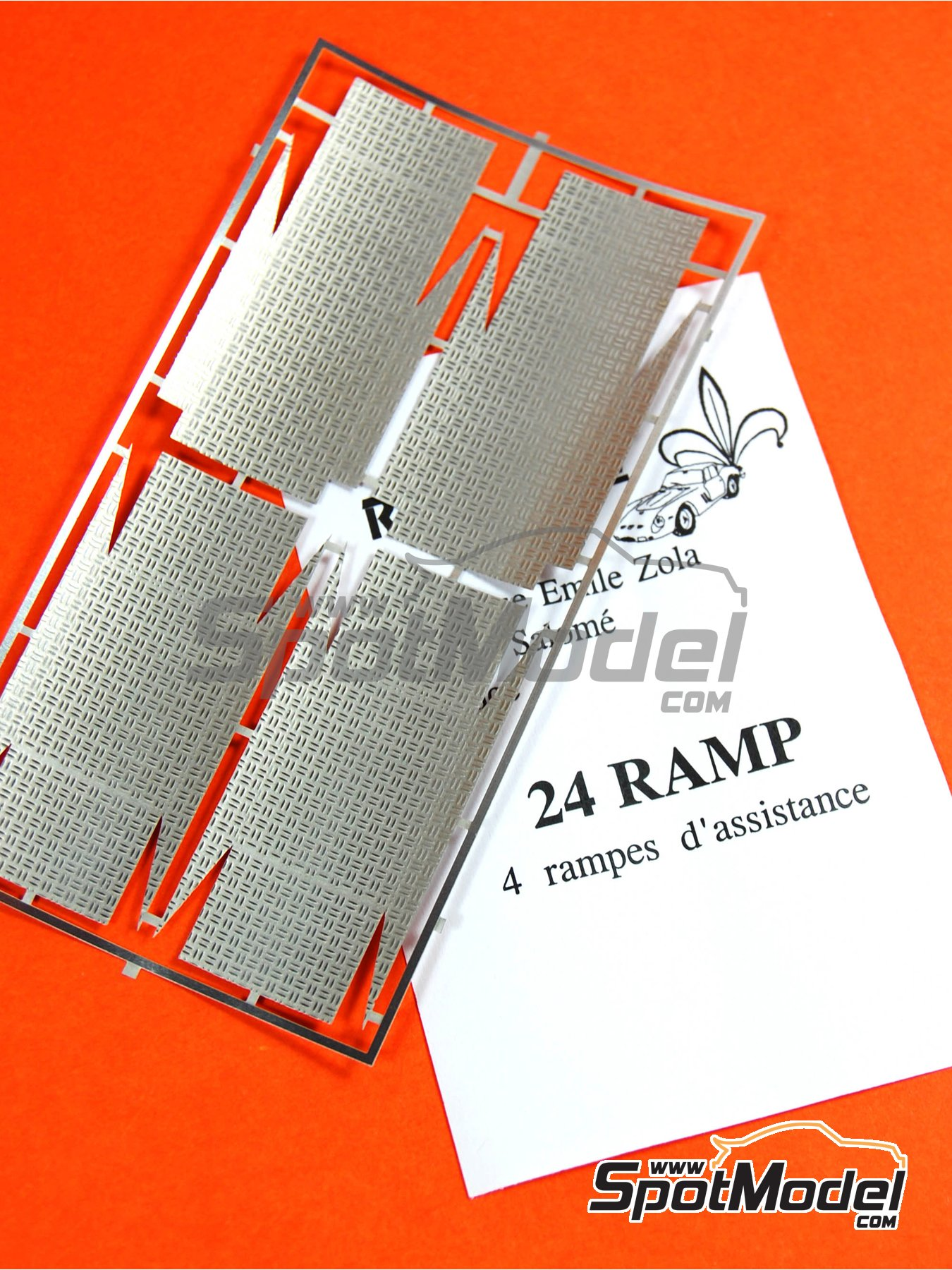 Mechanic rally ramps | Detail in 1/24 scale manufactured by Renaissance Models (ref. 24RAMP) image