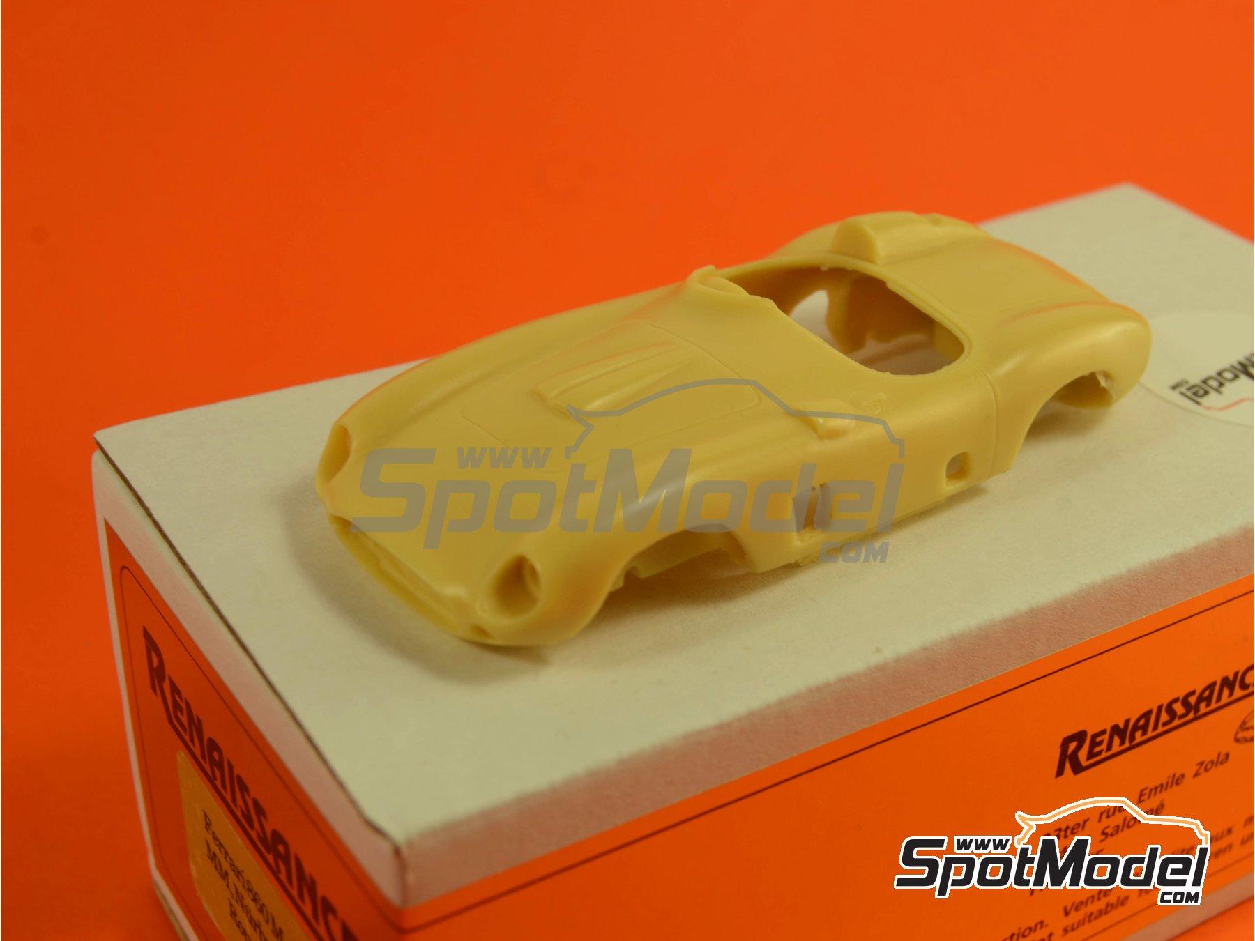Image 6: Ferrari 860 Monza - Mile Miglia 1956 | Model car kit in 1/43 scale manufactured by Renaissance Models (ref.43-06B, also 43/06B)