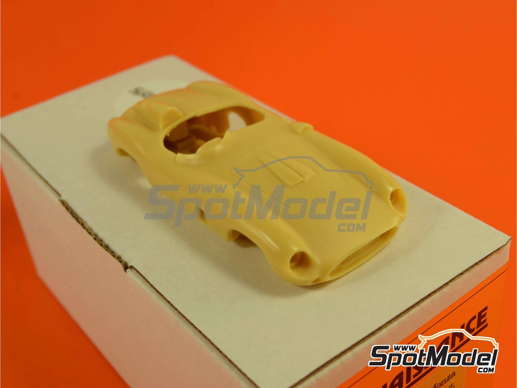 Image 8: Ferrari 860 Monza - Mile Miglia 1956 | Model car kit in 1/43 scale manufactured by Renaissance Models (ref.43-06B, also 43/06B)