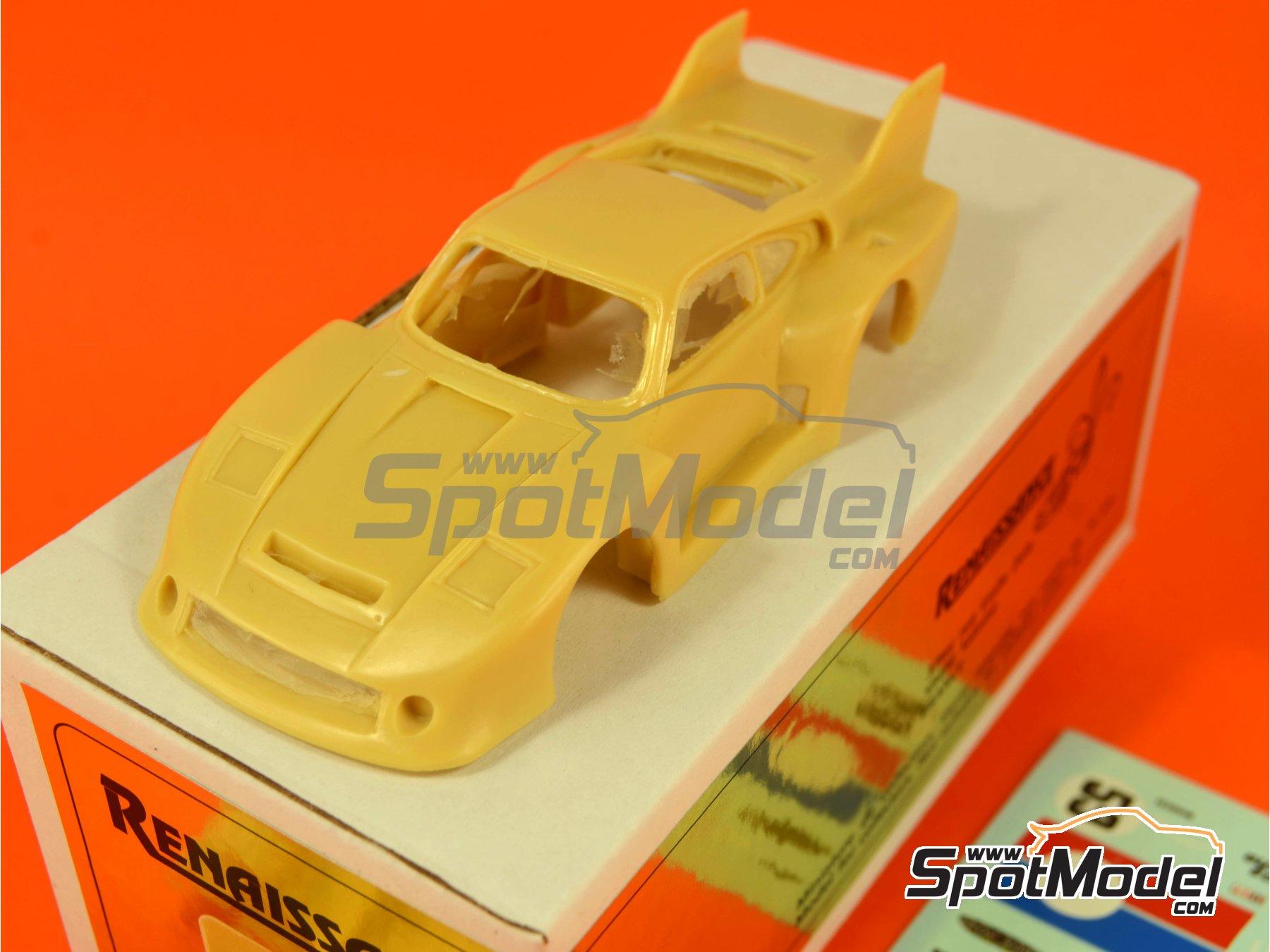 Image 10: Porsche 935 B2/80 Brumos - 24 Hours of Daytona 1980   Model car kit in 1/43 scale manufactured by Renaissance Models (ref.43-106)