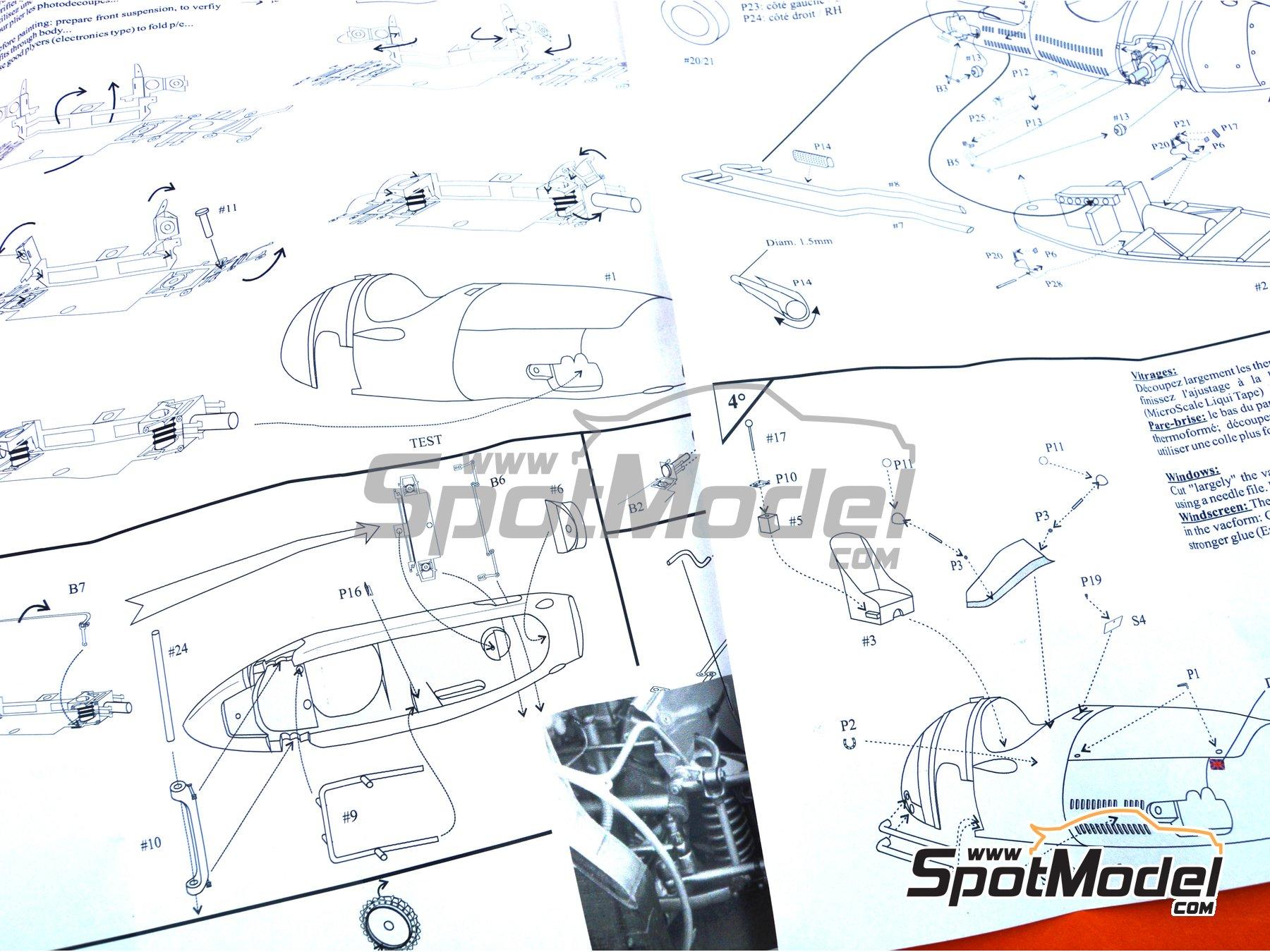 Image 9: Maserati 250F - Works car - Gran Premio de Argentina de Formula 1 1955 | Maqueta de coche en escala1/43 fabricado por Renaissance Models (ref.43-29i, tambien 43/29i)