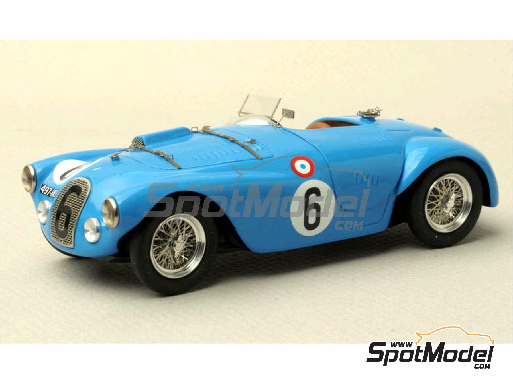 Image 1: Talbot Lago Grand Sport Spyder - 24 Horas de Le Mans 1952 y 1953 | Maqueta de coche en escala1/43 fabricado por Renaissance Models (ref.43-74B, tambien 43/74B)