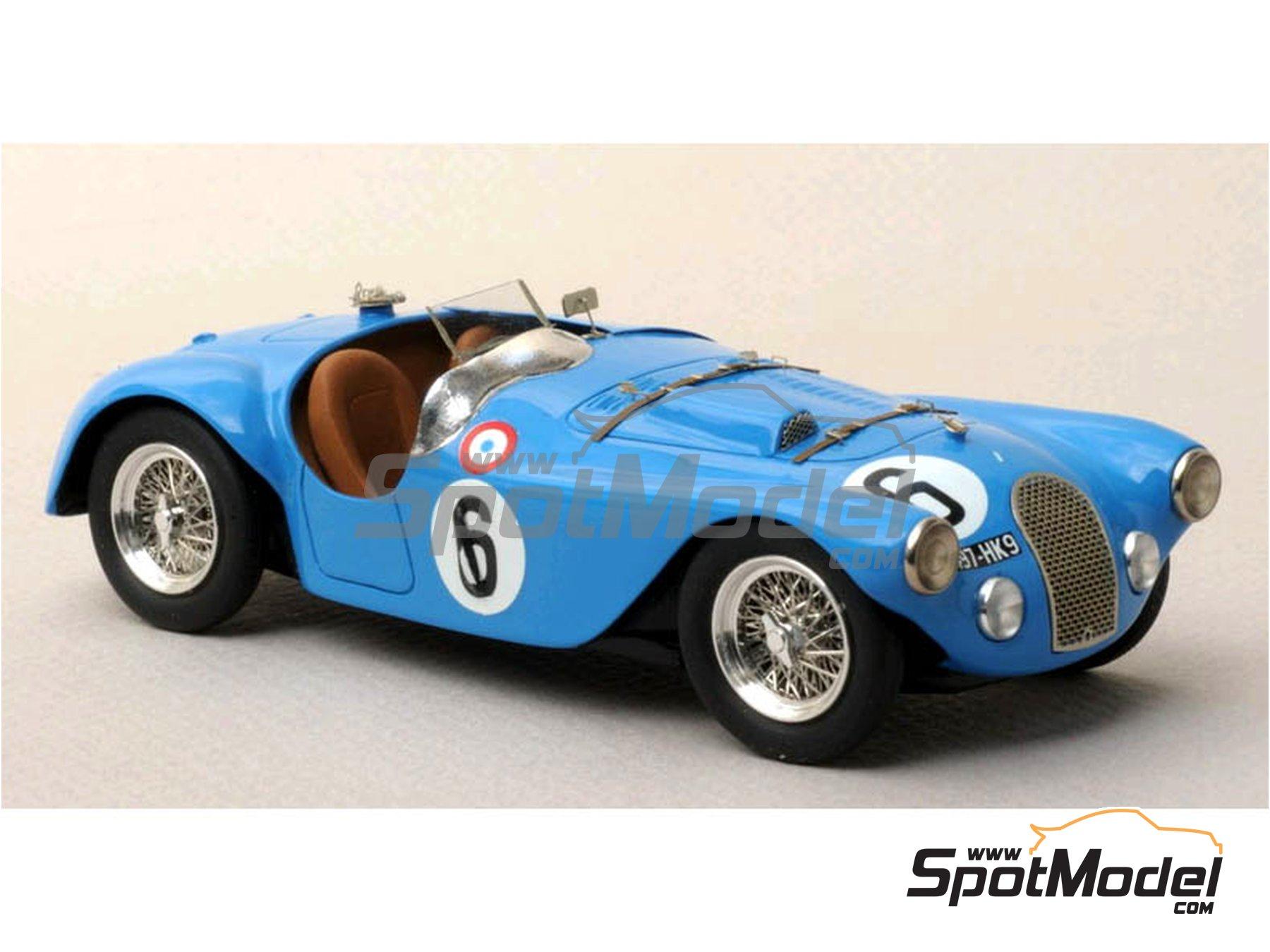Image 2: Talbot Lago Grand Sport Spyder - 24 Horas de Le Mans 1952 y 1953 | Maqueta de coche en escala1/43 fabricado por Renaissance Models (ref.43-74B, tambien 43/74B)