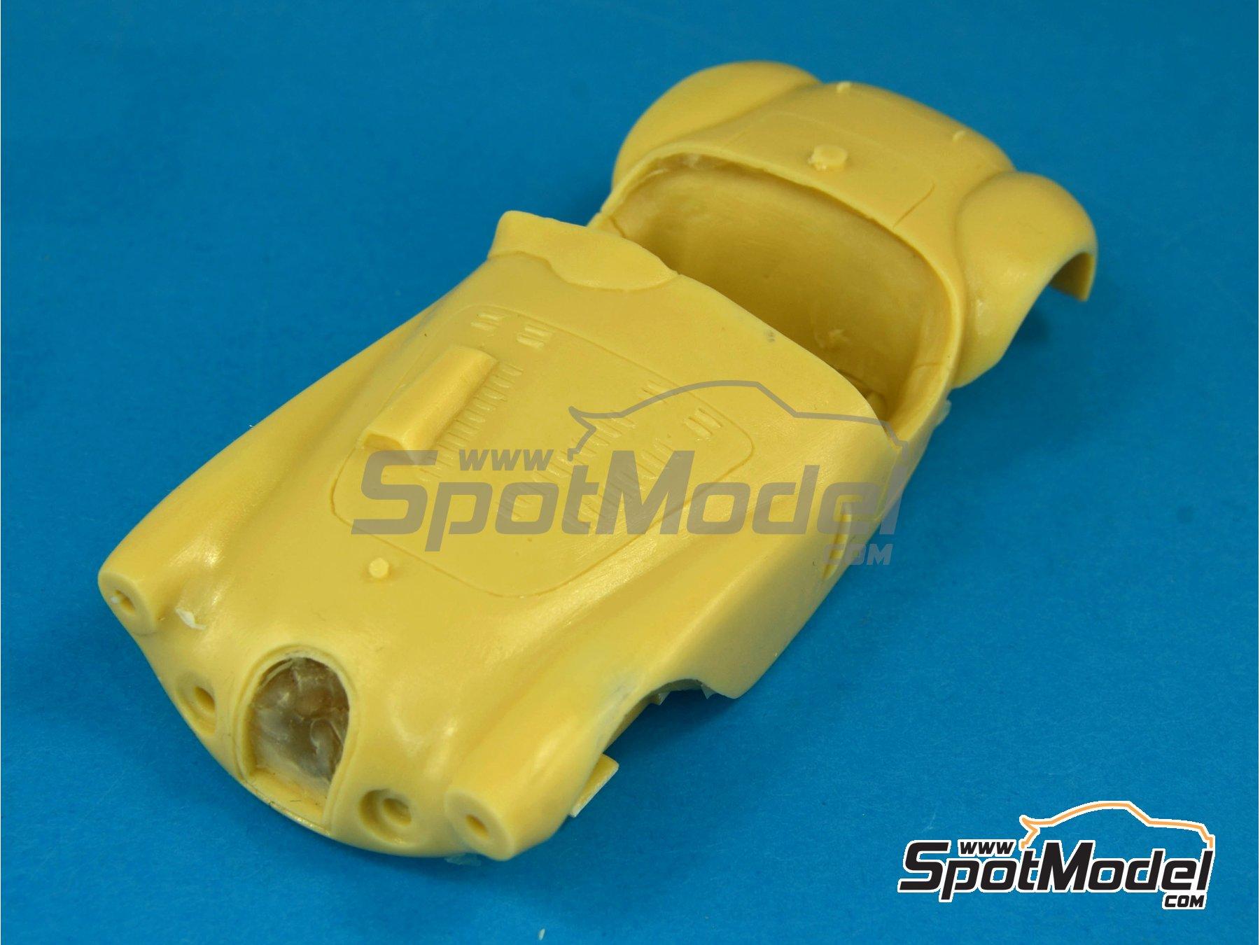 Image 8: Talbot Lago Grand Sport Spyder - 24 Horas de Le Mans 1952 y 1953 | Maqueta de coche en escala1/43 fabricado por Renaissance Models (ref.43-74B, tambien 43/74B)