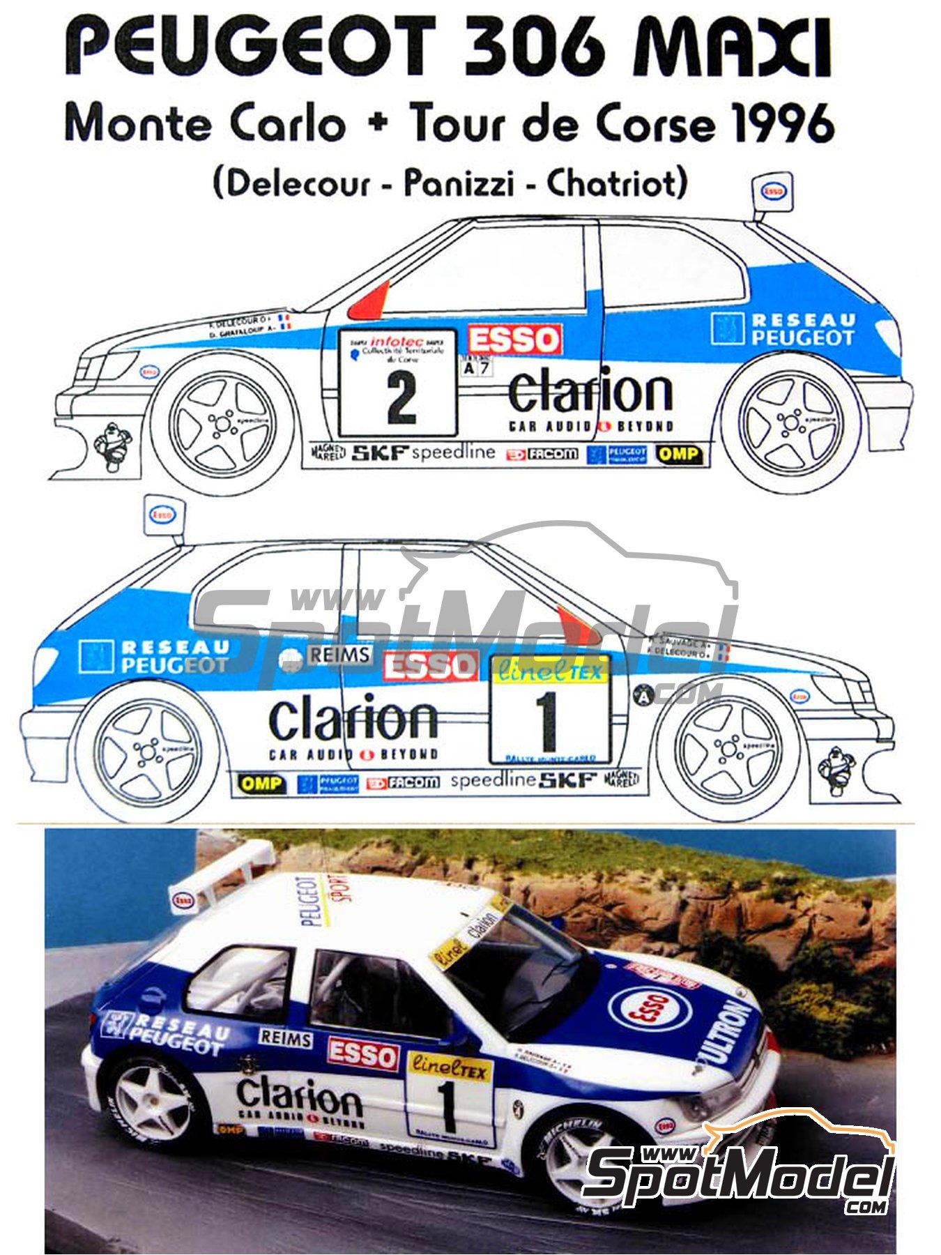 Renaissance Models: Model car kit 1/24 scale - Peugeot 306 Maxi Evo ...