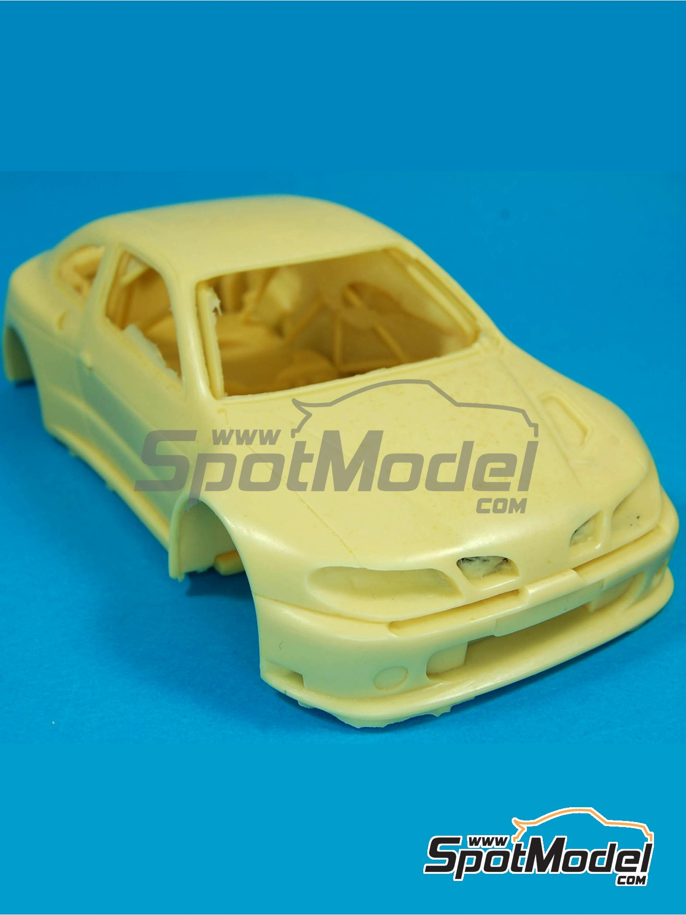 Renault Megane Maxi Kit Car | Bodywork in 1/24 scale manufactured by Renaissance Models (ref. CTR2402-BODY) image