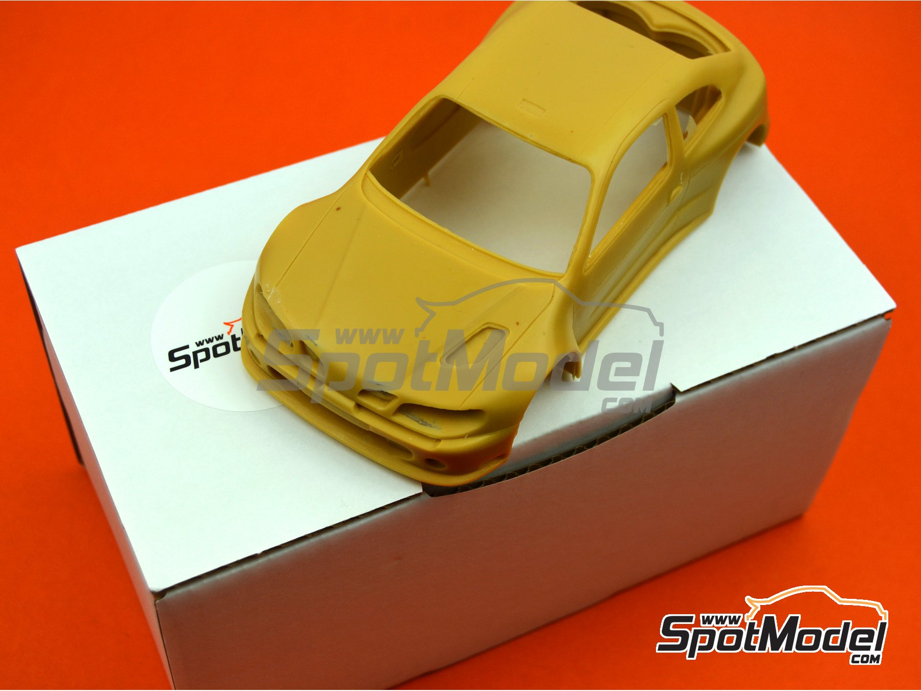 Image 1: Renault Megane Maxi Kit Car | Bodywork in 1/24 scale manufactured by Renaissance Models (ref. CTR2407-BODY)
