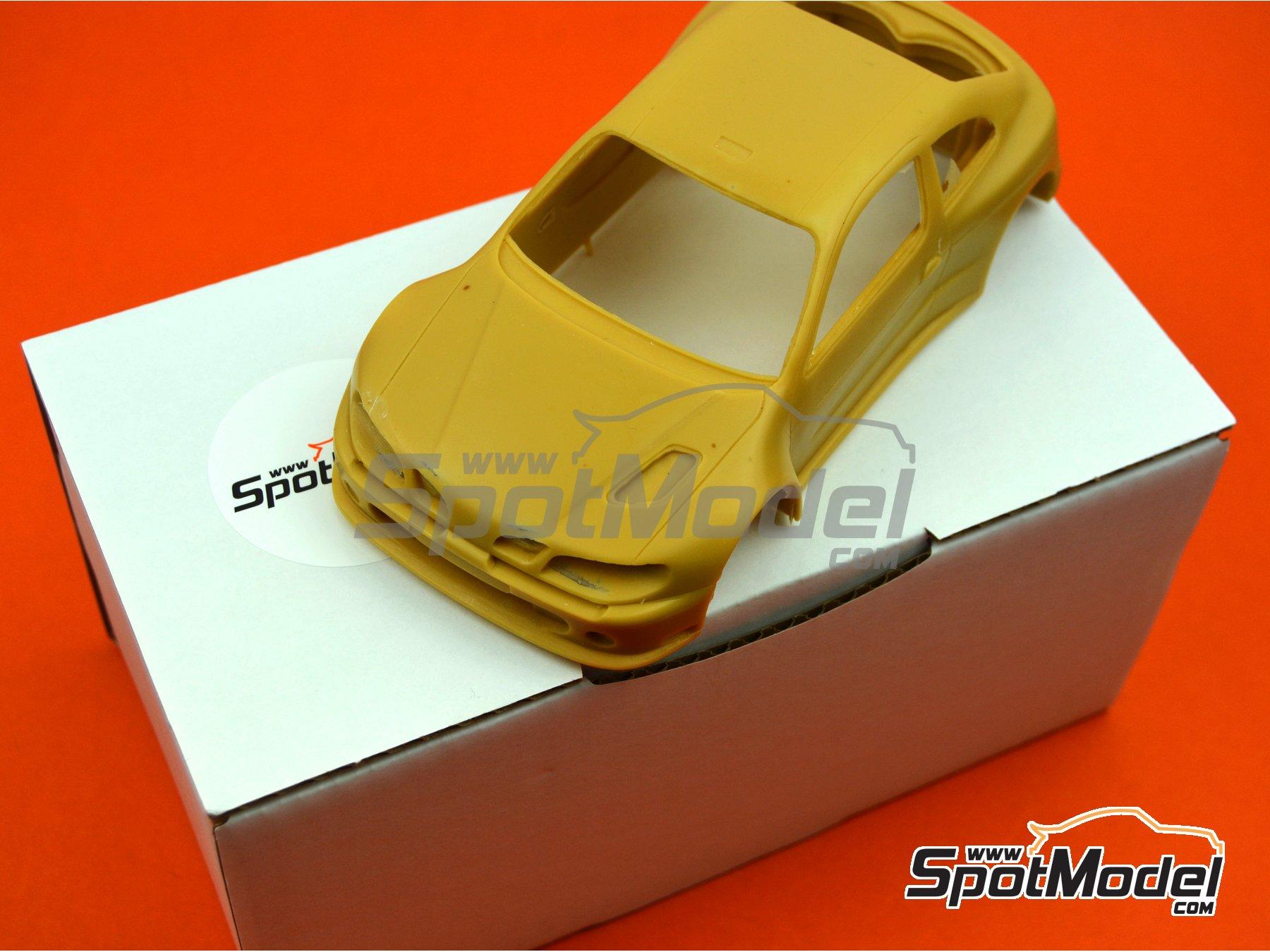 Image 1: Renault Megane Maxi Kit Car | Bodywork in 1/24 scale manufactured by Renaissance Models (ref.CTR2407-BODY)