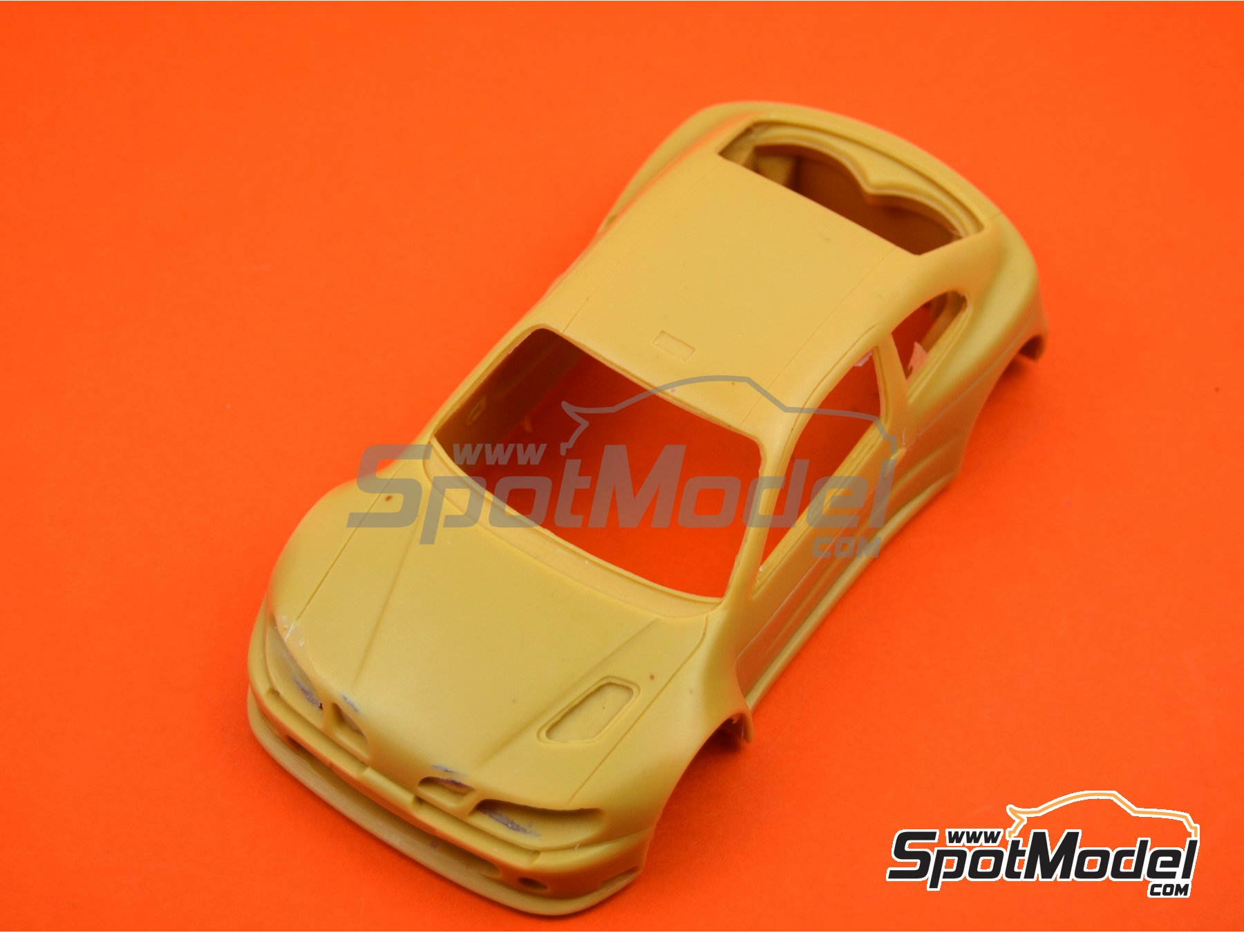 Image 2: Renault Megane Maxi Kit Car | Bodywork in 1/24 scale manufactured by Renaissance Models (ref. CTR2407-BODY)