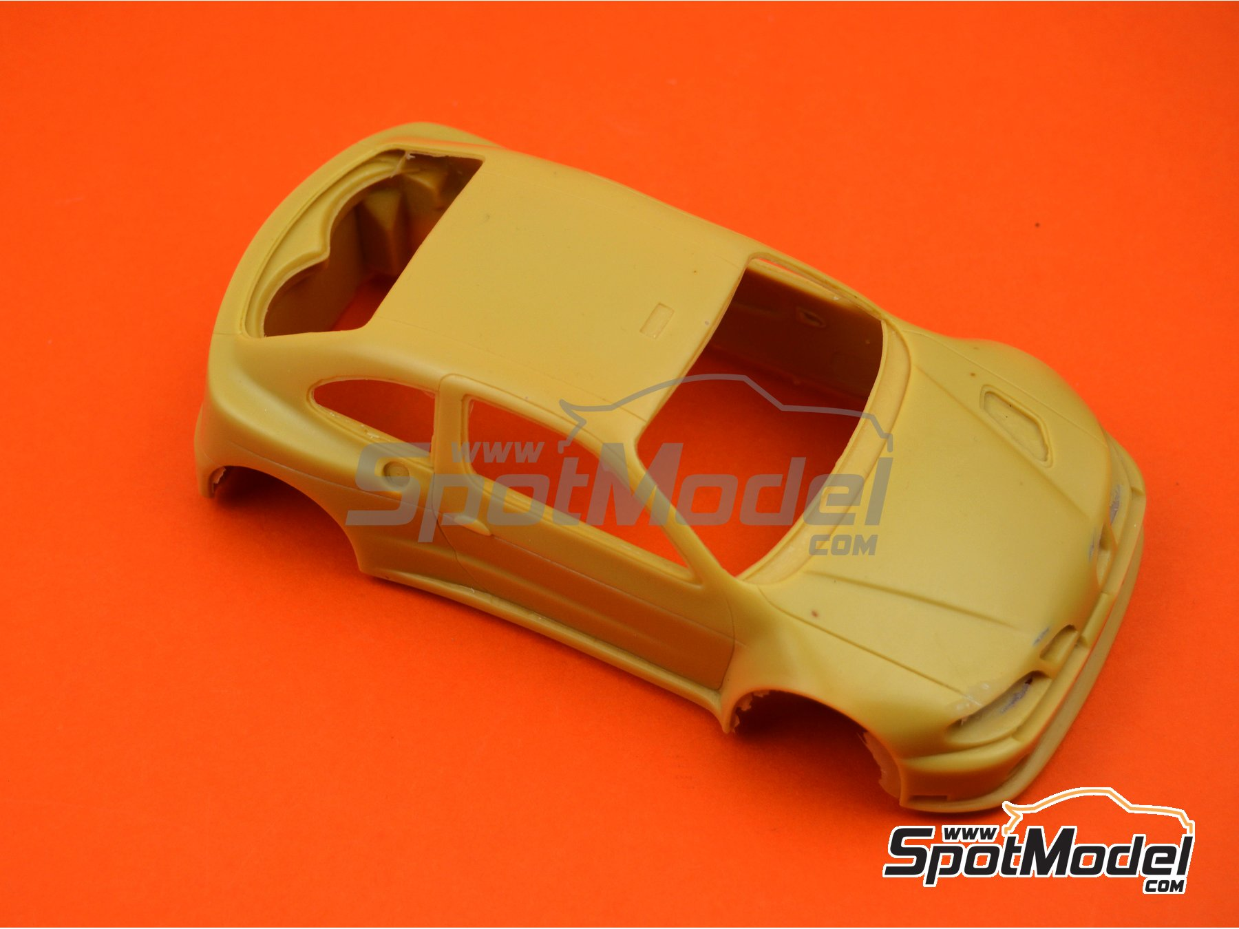 Image 3: Renault Megane Maxi Kit Car | Bodywork in 1/24 scale manufactured by Renaissance Models (ref. CTR2407-BODY)