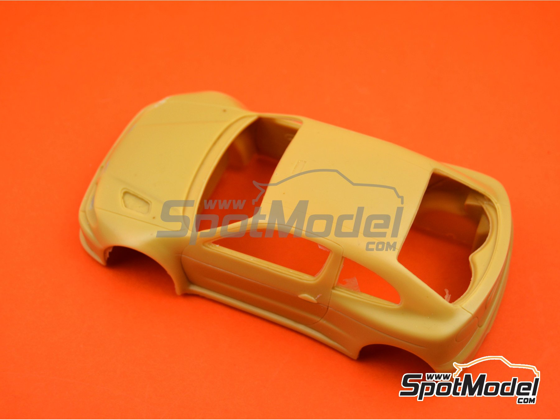 Image 5: Renault Megane Maxi Kit Car | Bodywork in 1/24 scale manufactured by Renaissance Models (ref. CTR2407-BODY)