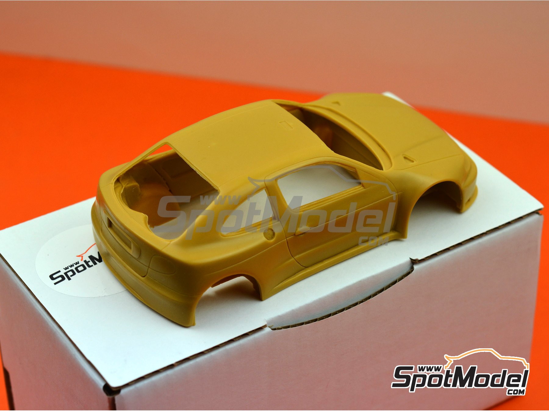 Image 4: Renault Megane Kit-Car | Bodywork in 1/24 scale manufactured by Renaissance Models (ref. CTR2408-BODY)