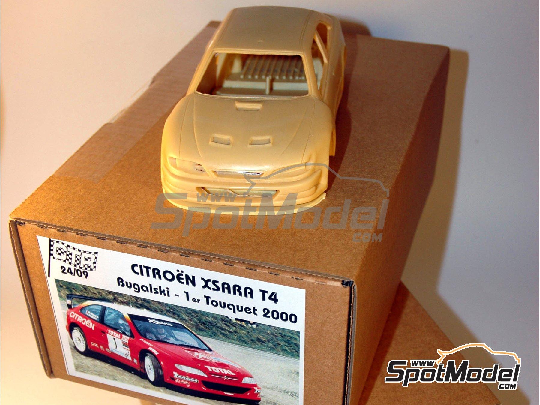 Image 1: Citroen Xsara T4 WRC -  2000 | Model car kit in 1/24 scale manufactured by Renaissance Models (ref.CTR2409)