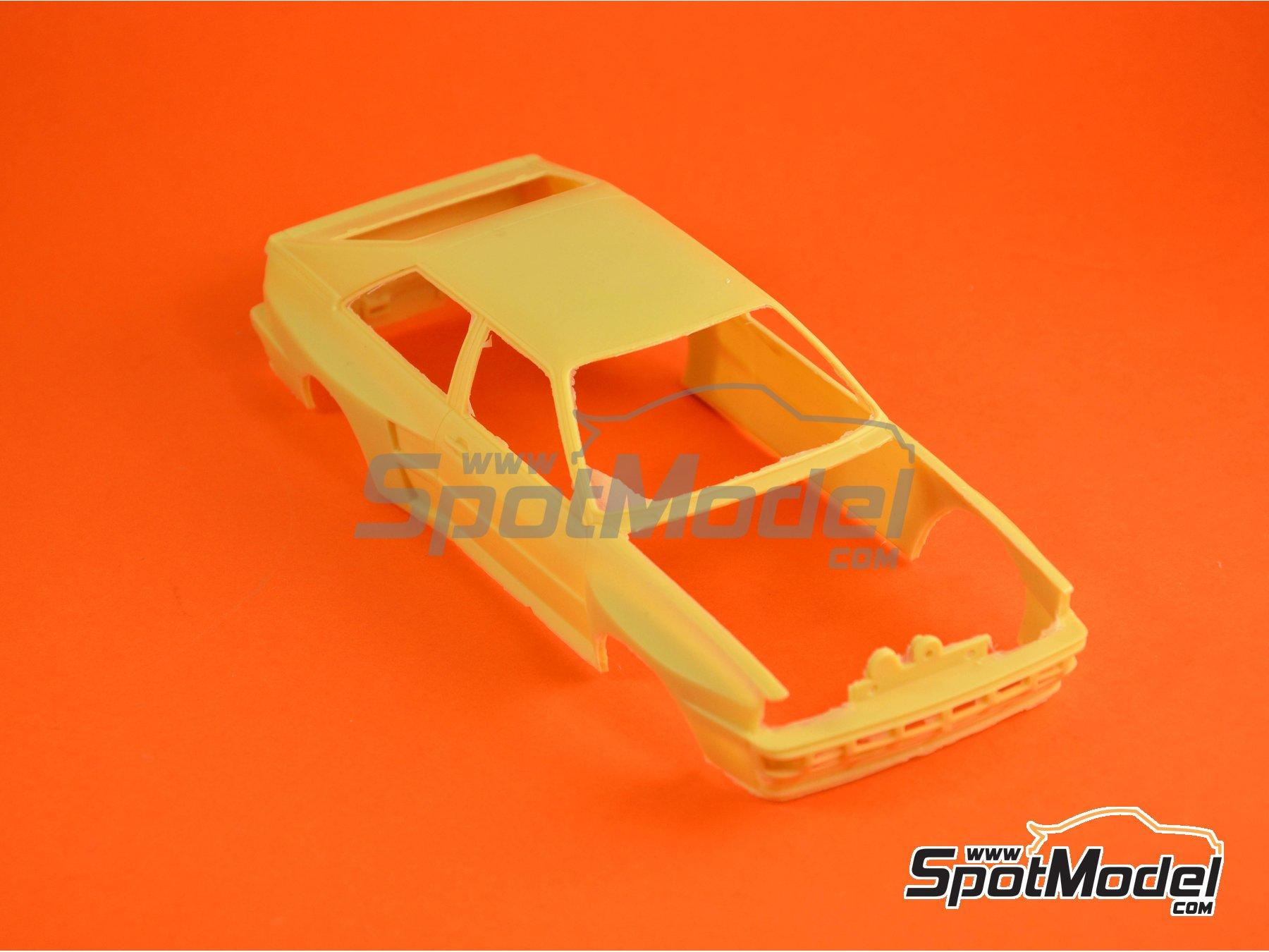 Image 12: Audi Quattro Group B HB - Rally de Montecarlo 1984 | Decoración en escala1/24 fabricado por Renaissance Models (ref.TK24-046)