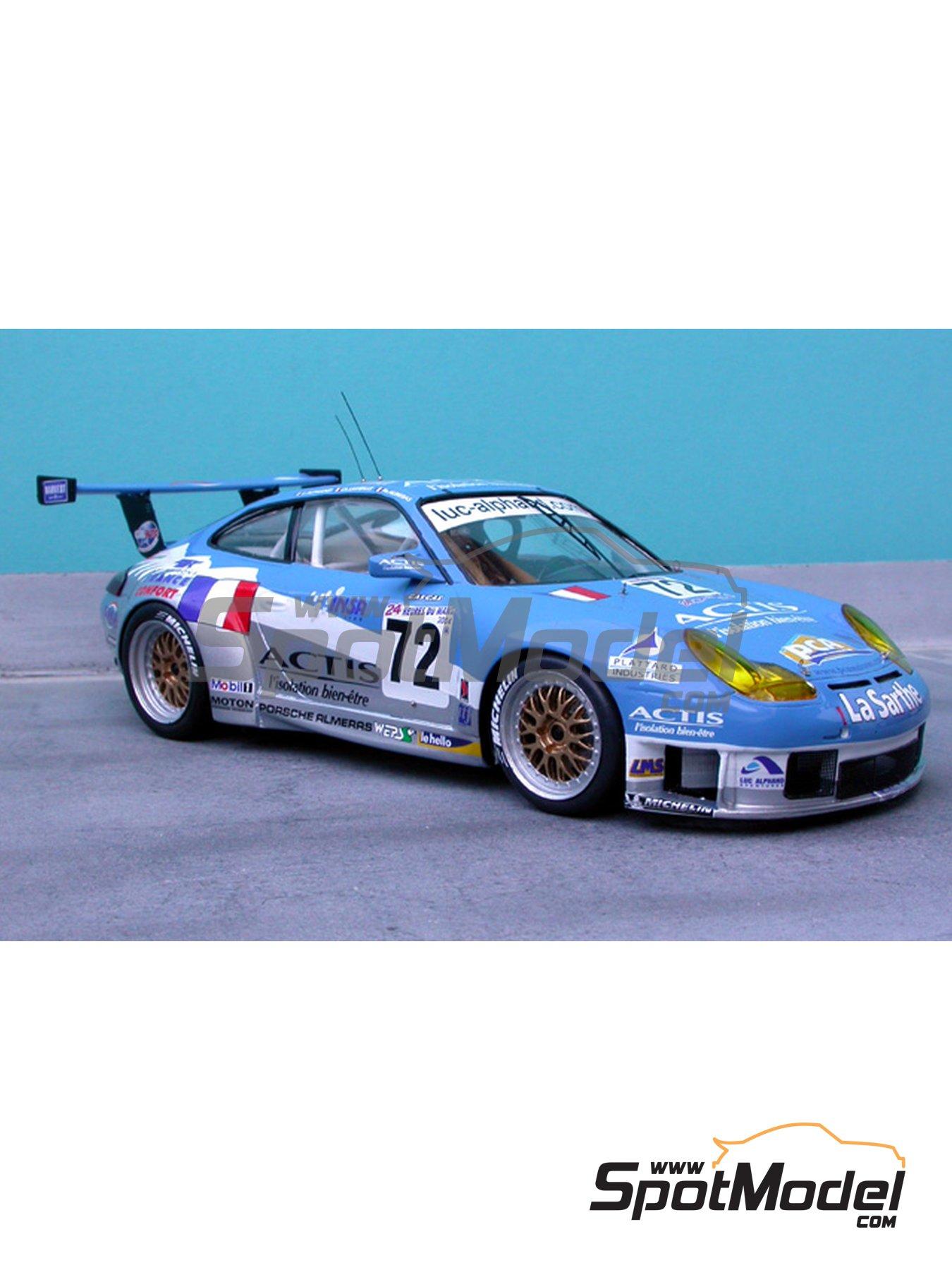 Porsche 911 GT3 RS | Decoración en escala1/24 fabricado por Renaissance Models (ref.TK24-185) image