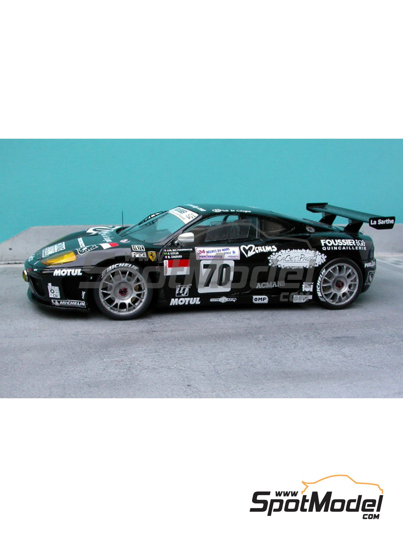 Ferrari 360 Modena JMB | Marking / livery in 1/24 scale manufactured by Renaissance Models (ref.TK24-187) image