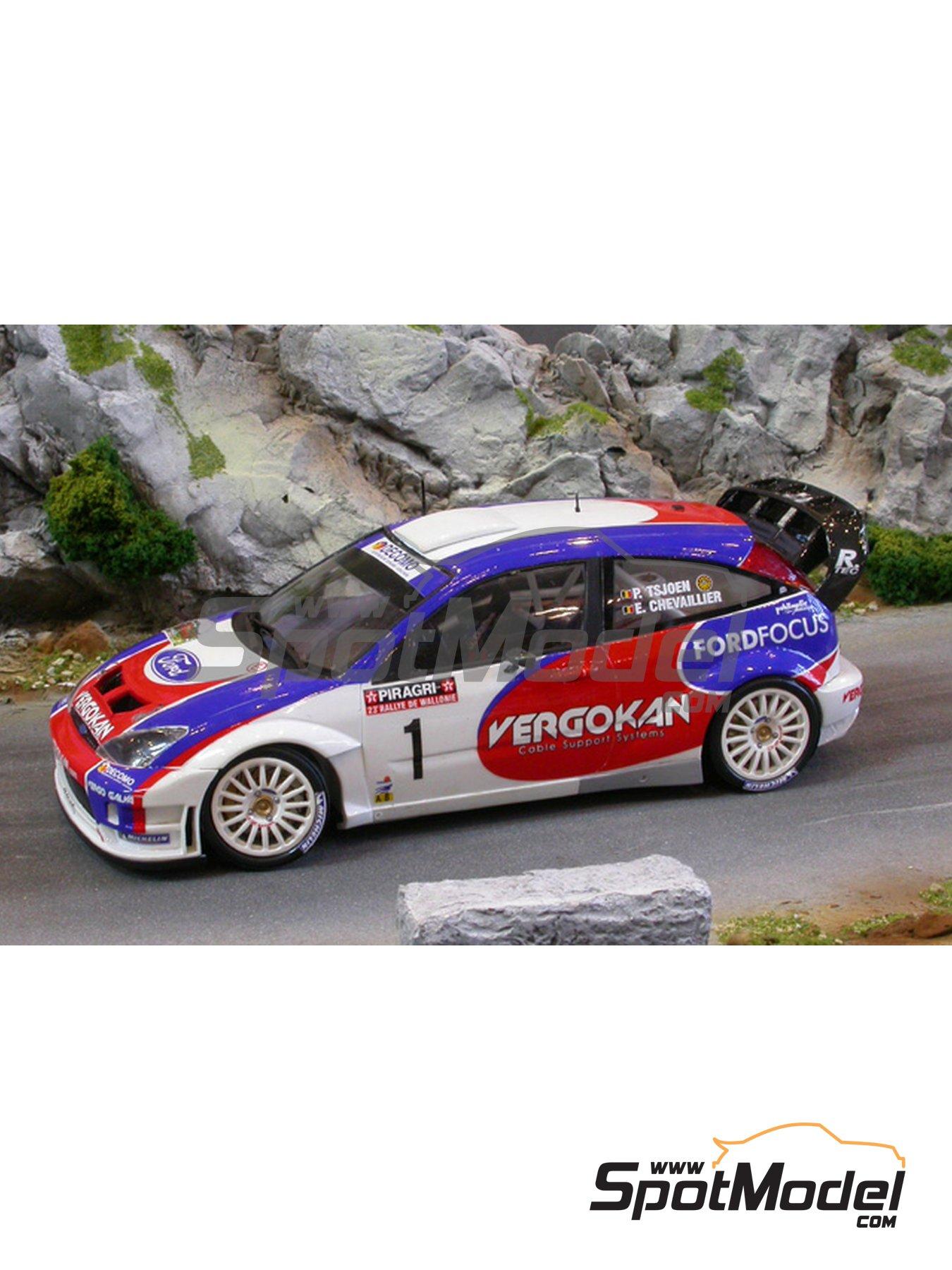 Ford Focus RS05 WRC | Decoración en escala1/24 fabricado por Renaissance Models (ref.TK24-246) image